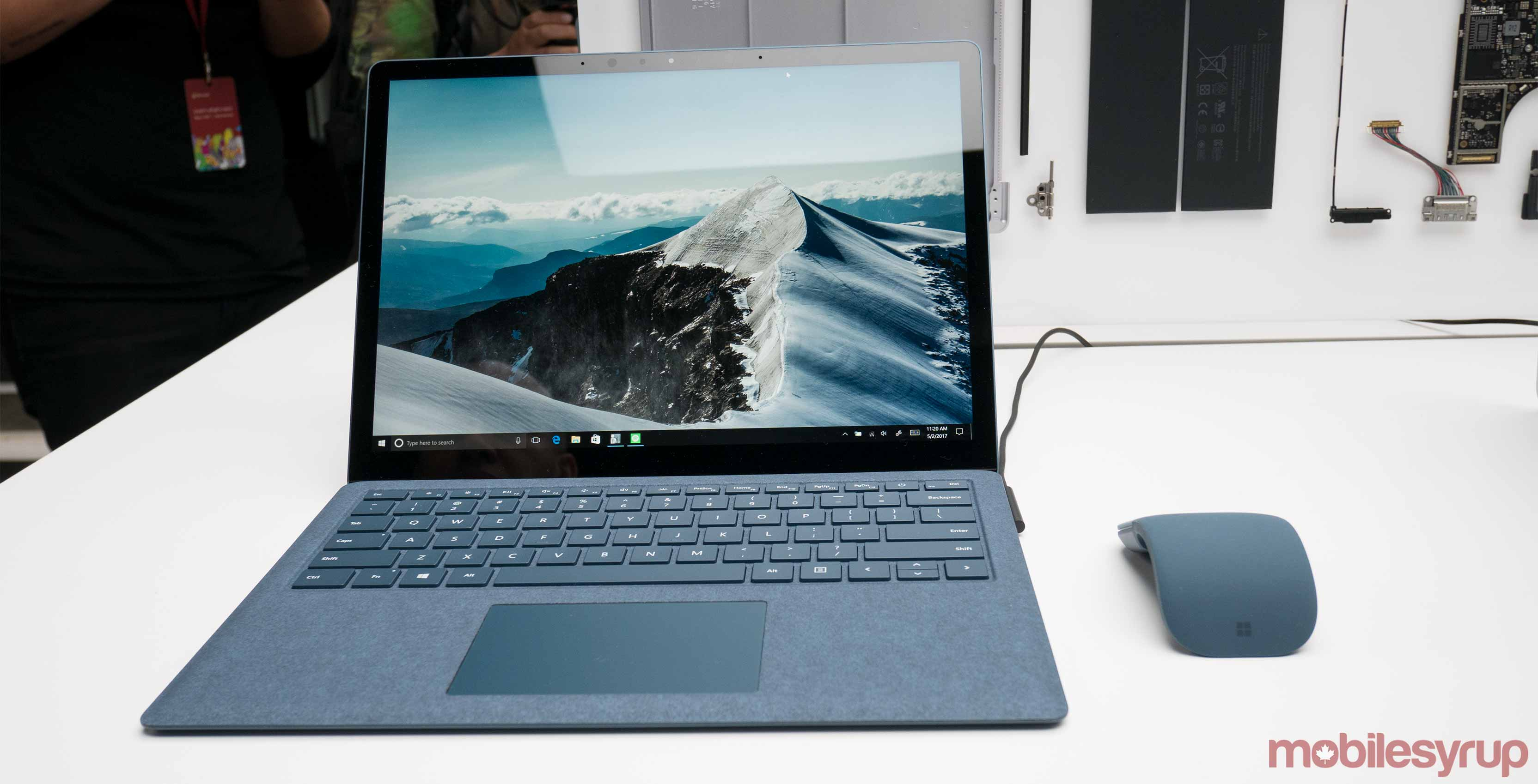 Microsoft S Core I5 Surface Laptop Will Be Available In Canada On June 15