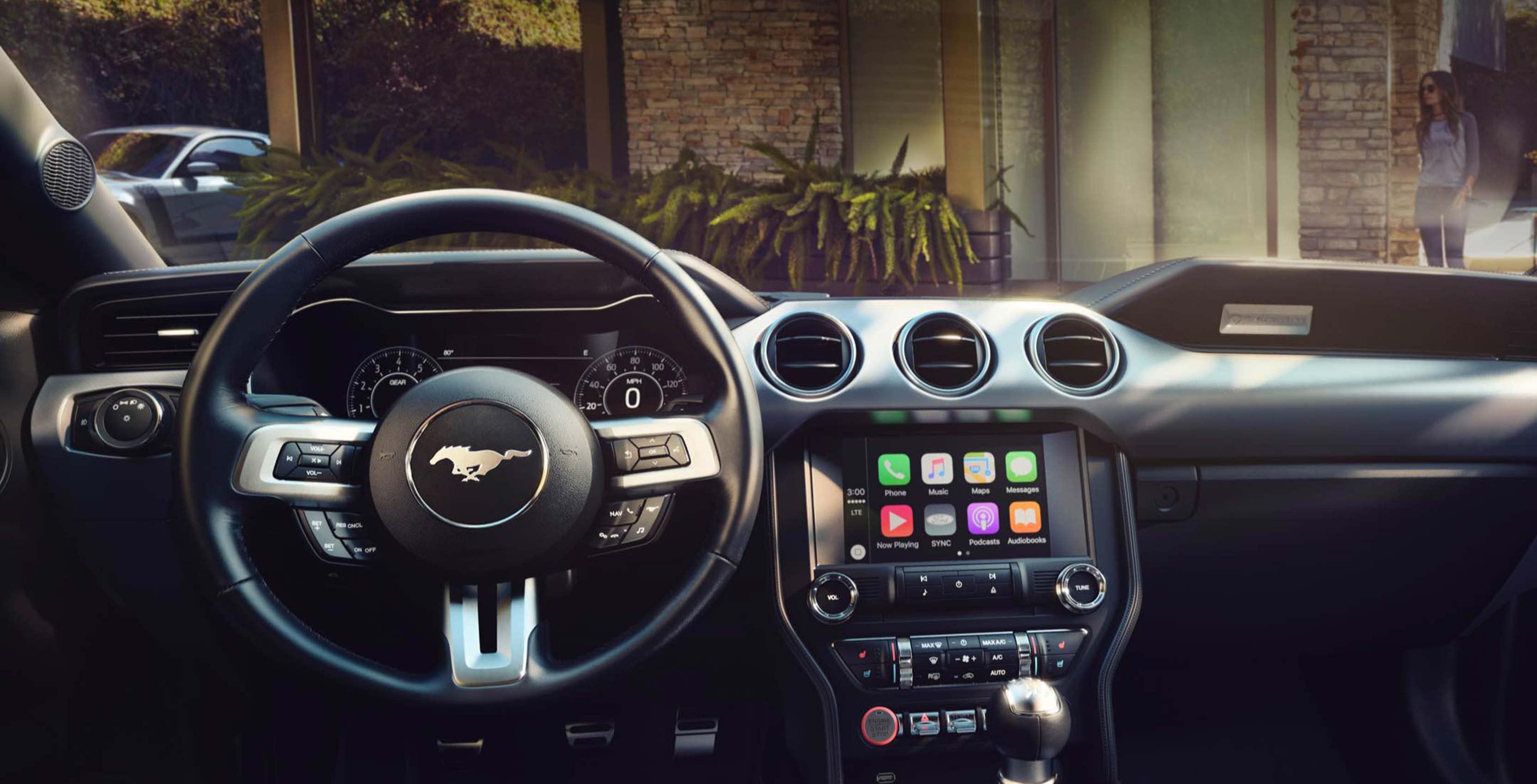 Ford Sync 3 infotainment system running CarPlay