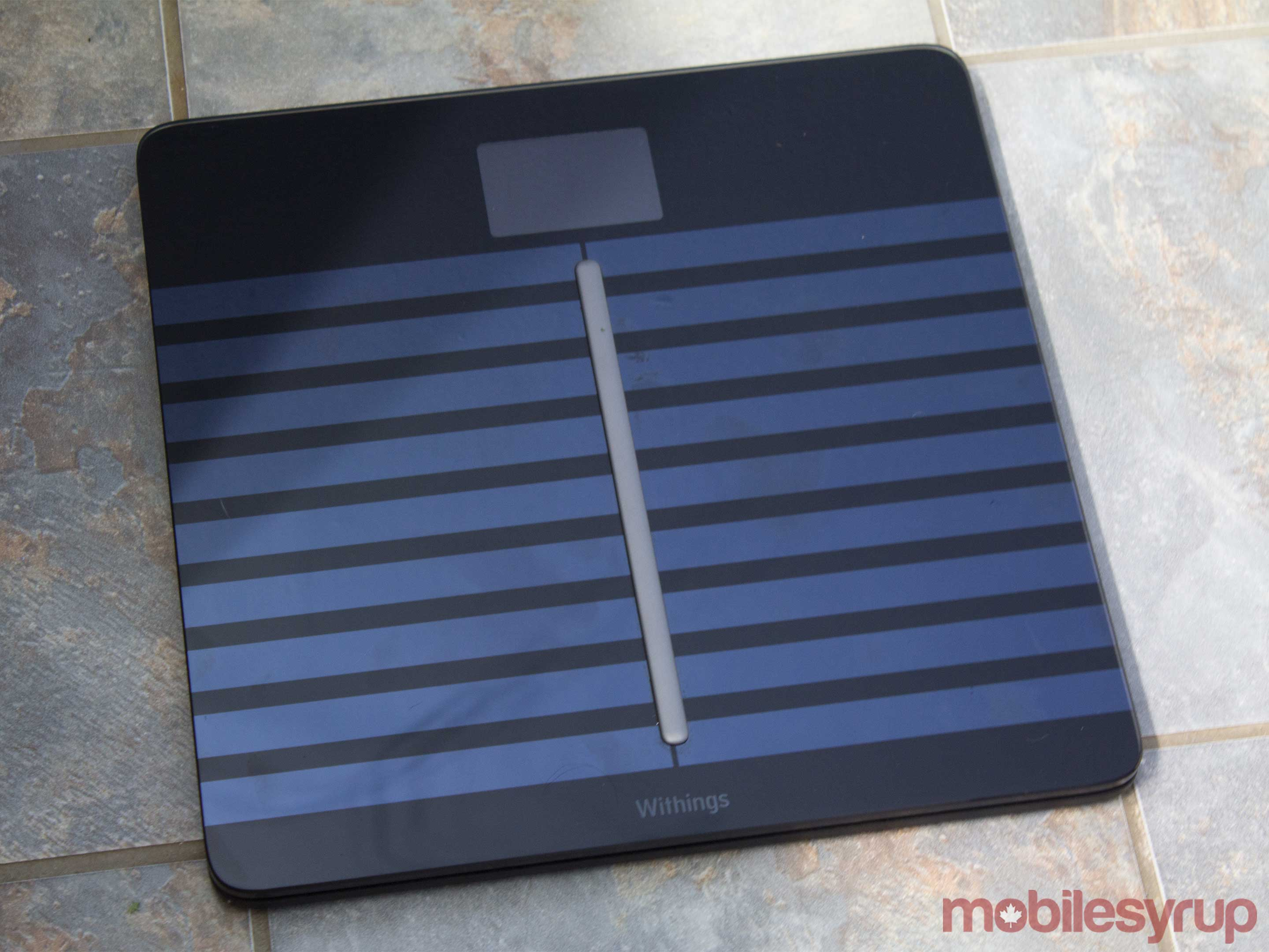 Withings Body Cardio Wi-Fi Scale top view