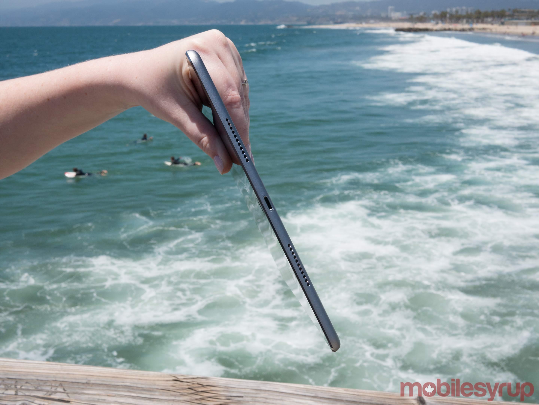 10.5-inch iPad side