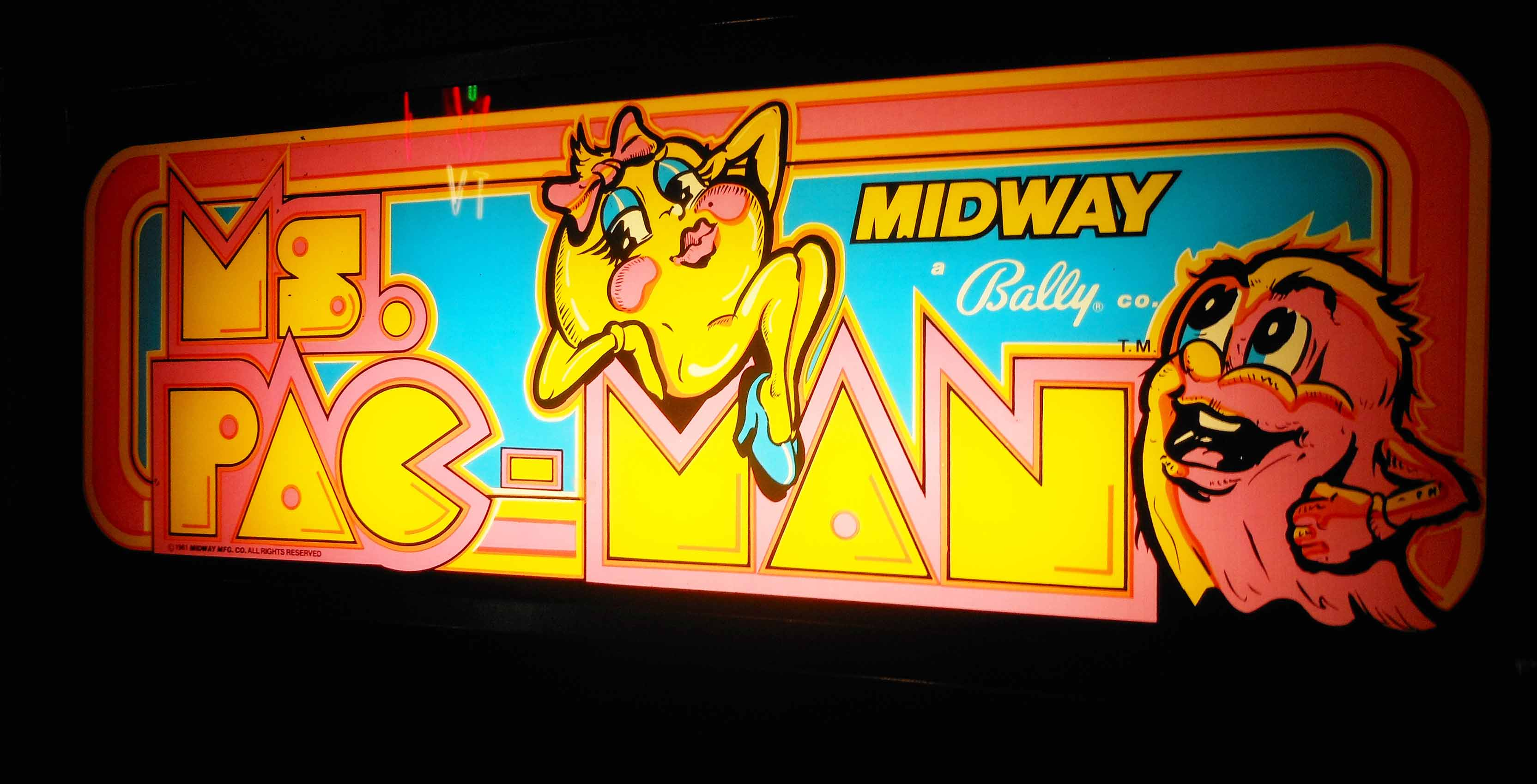 Ms. Pac-Man arcade