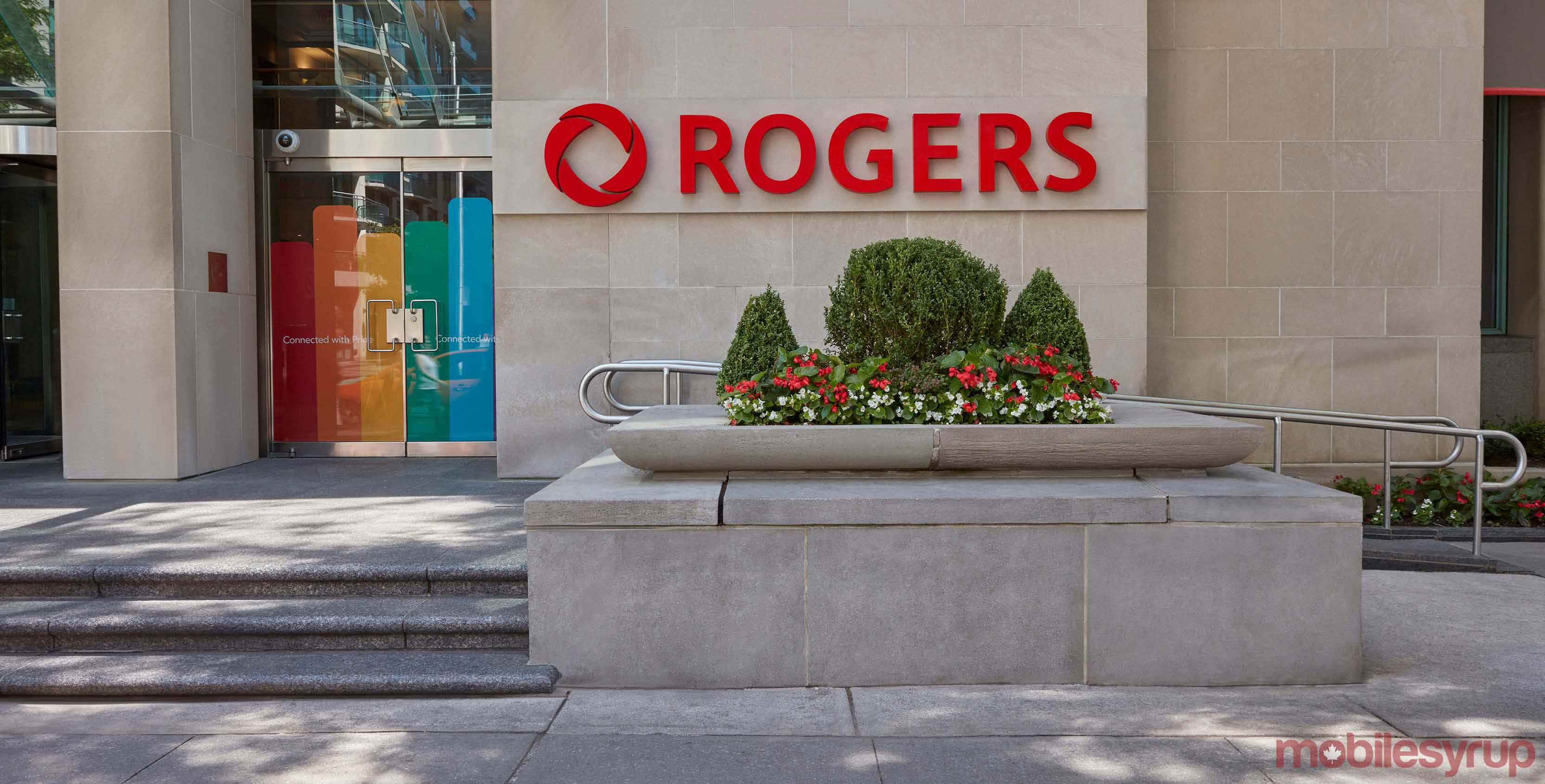Rogers head office with logo