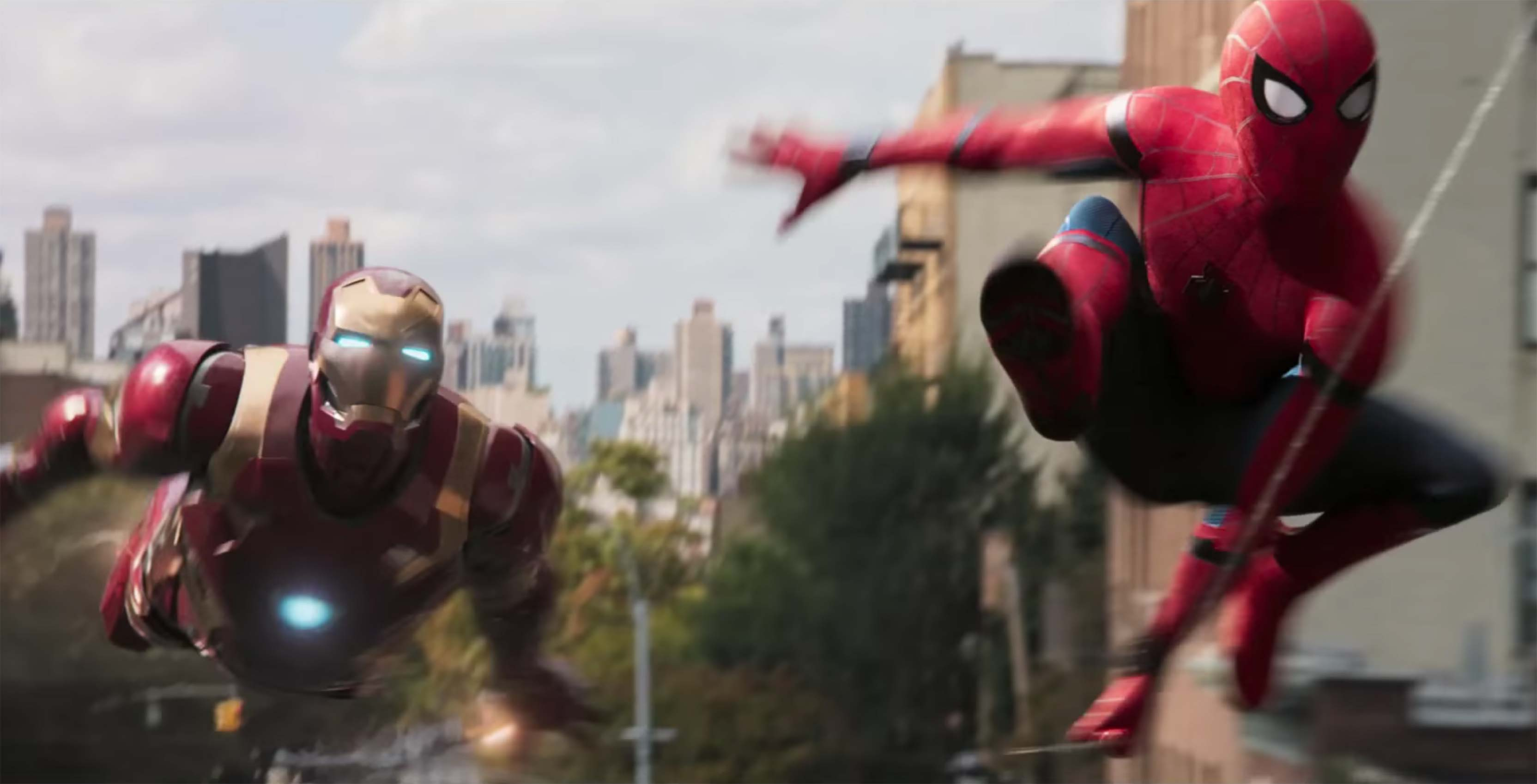 Spider-Man with Iron Man