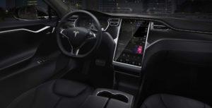 Tesla Model 3 in-car