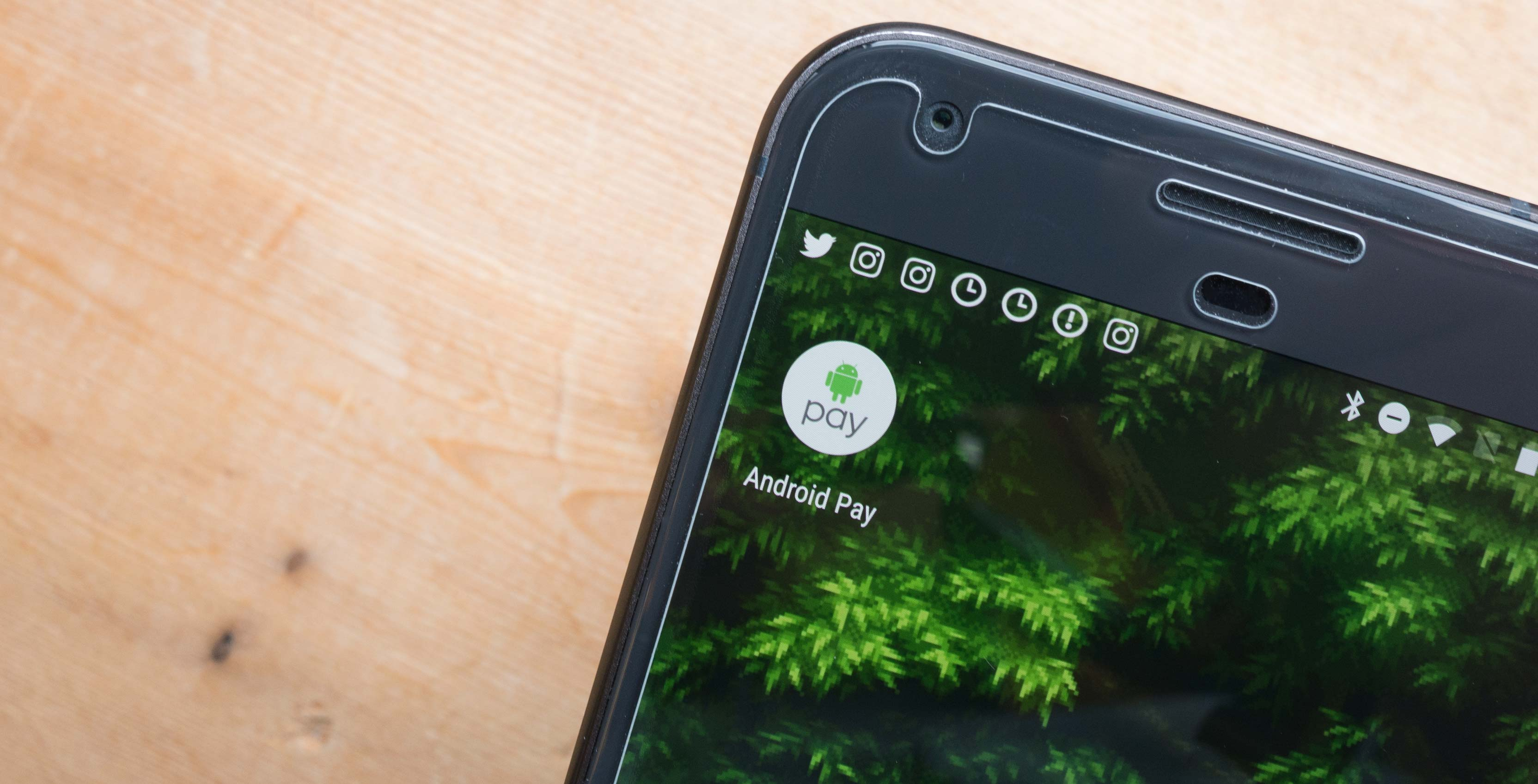Android Pay app icon on Android
