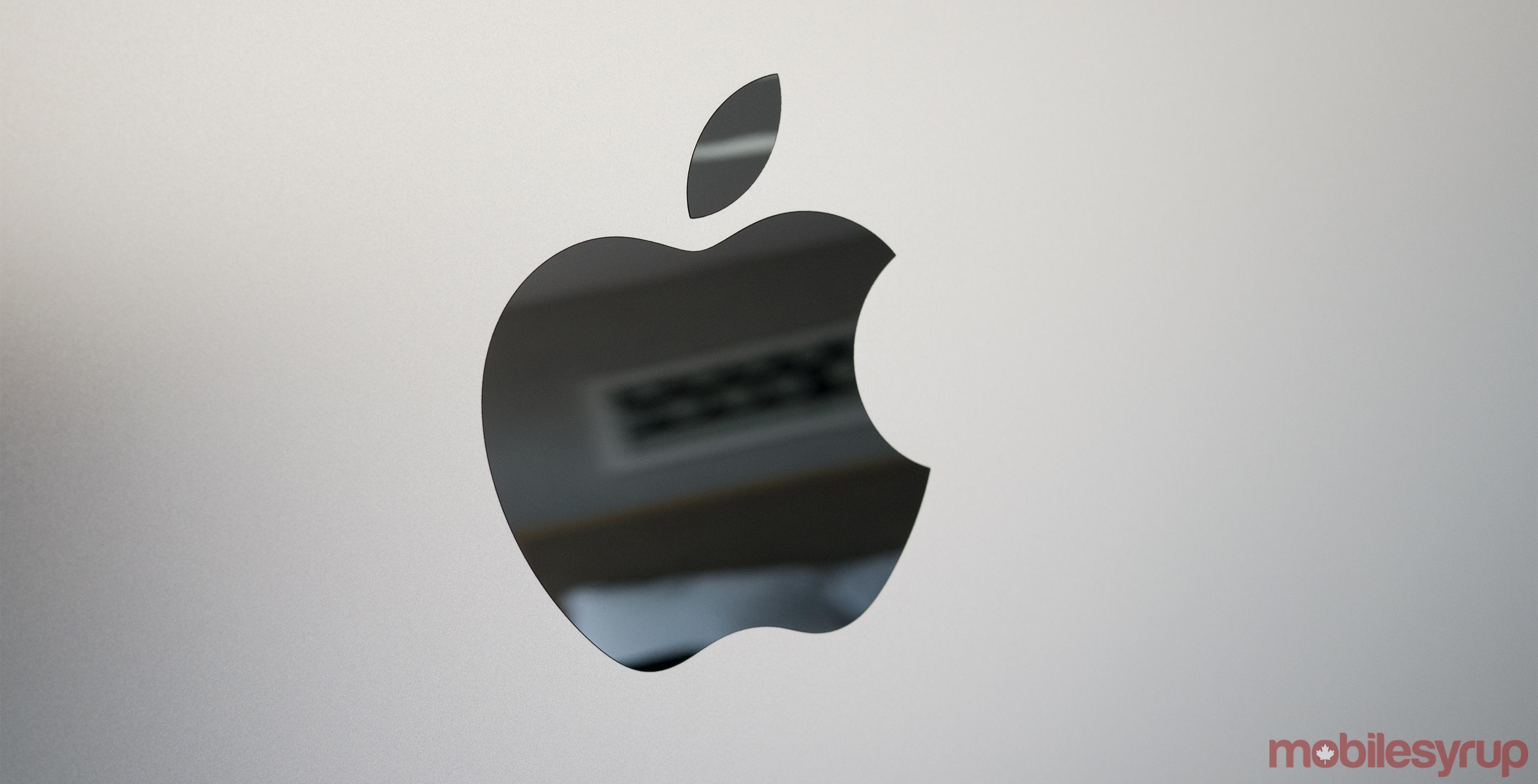 An image showing the Apple logo