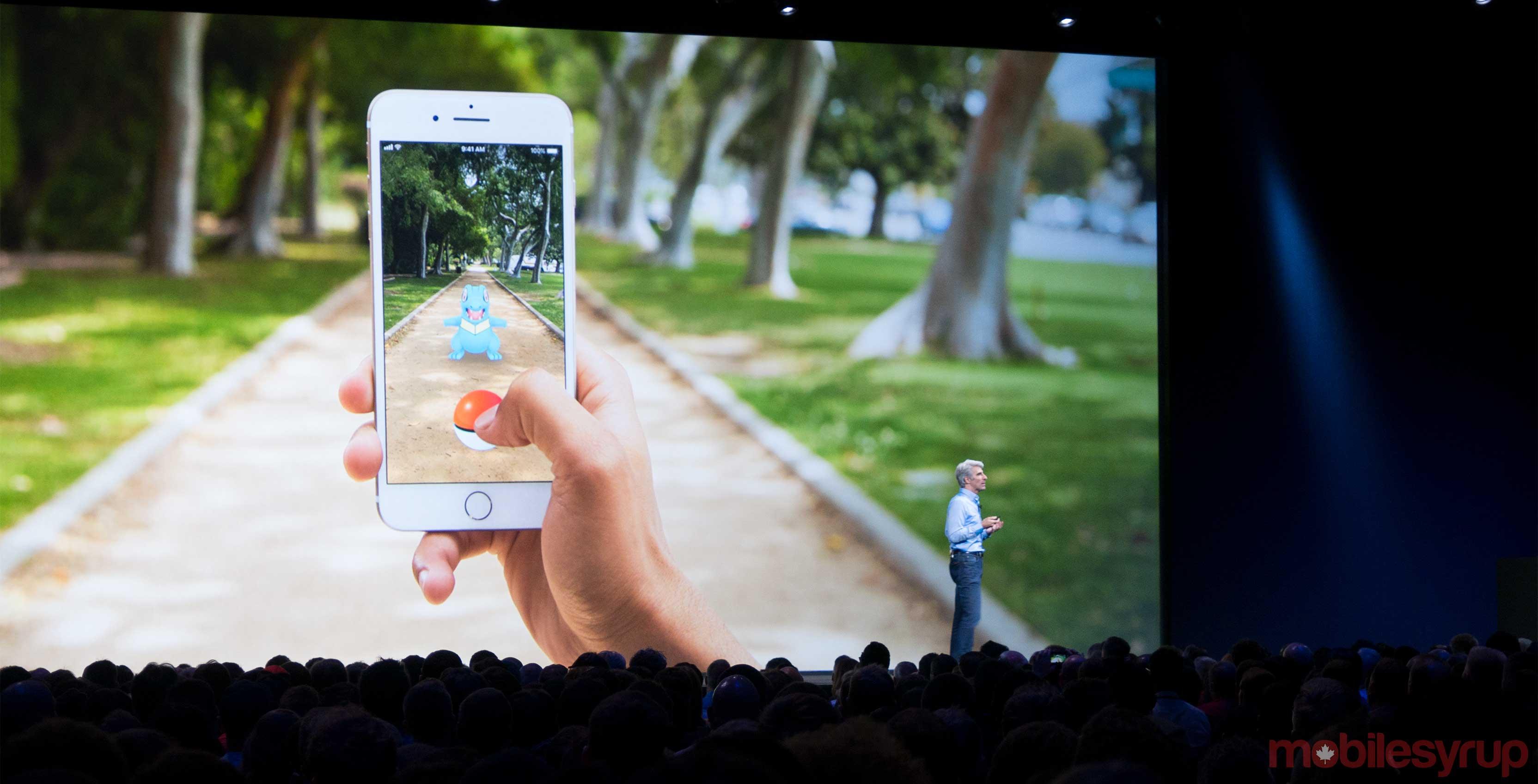 Apple ARKit WWDC Pokemon Go