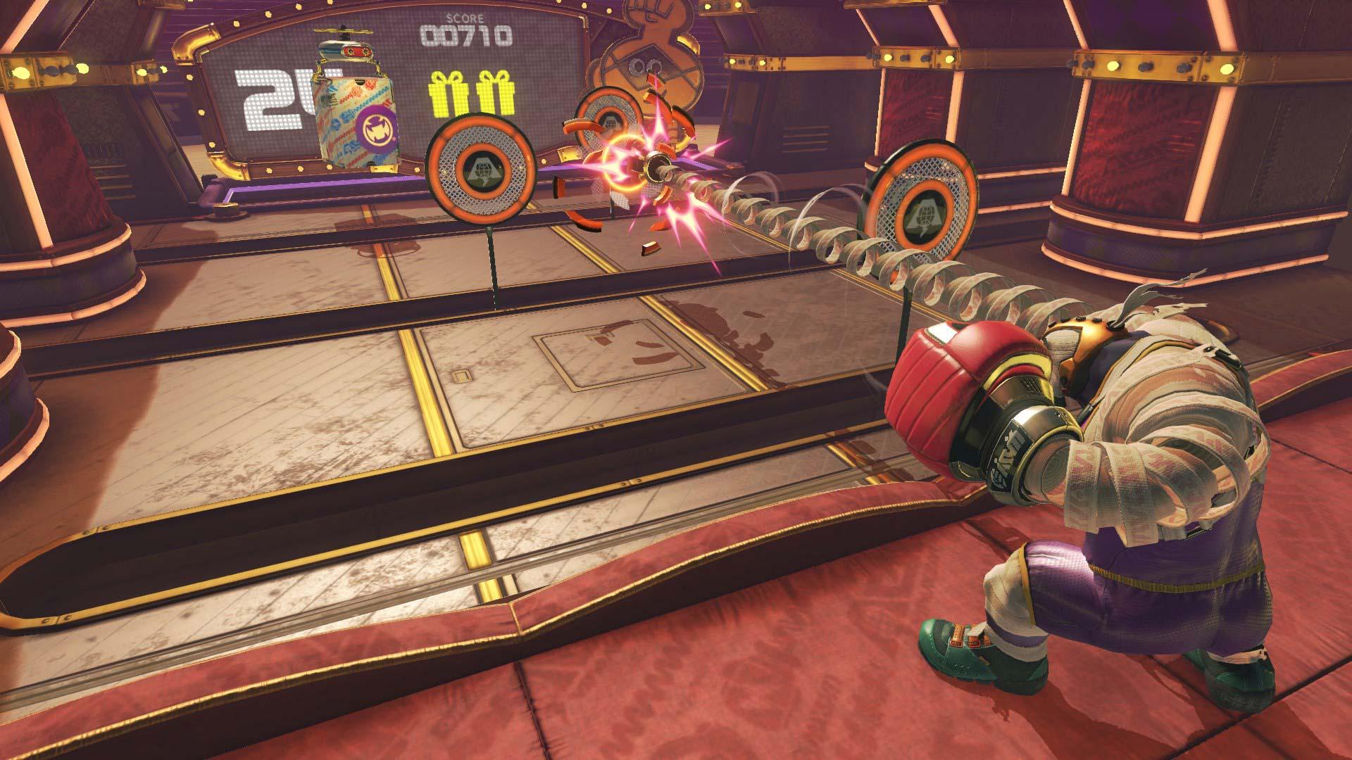 Arms screenshot
