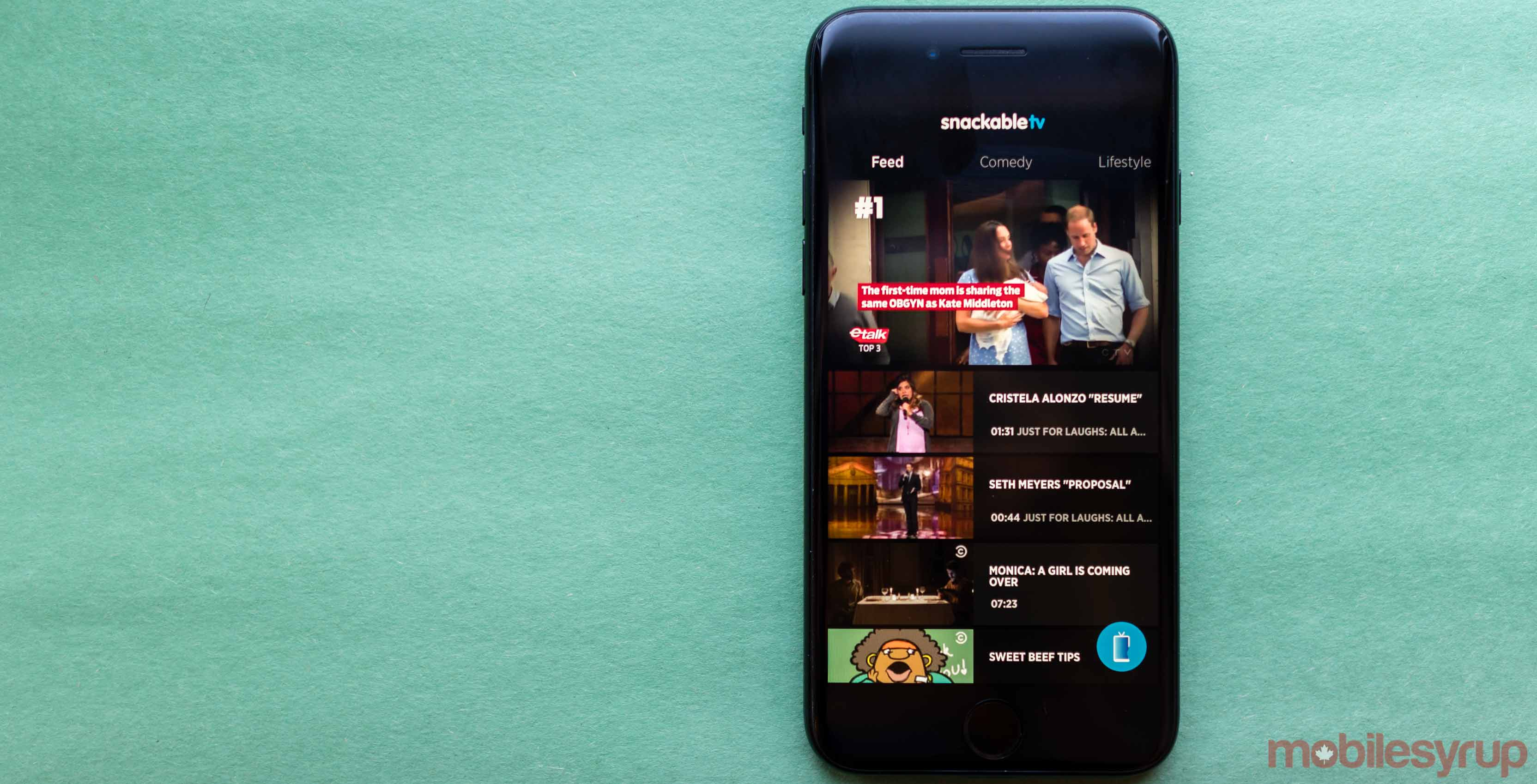 Bell goes live with SnackableTV app, its mobile-focused 'bite-sized entertainment' VOD service