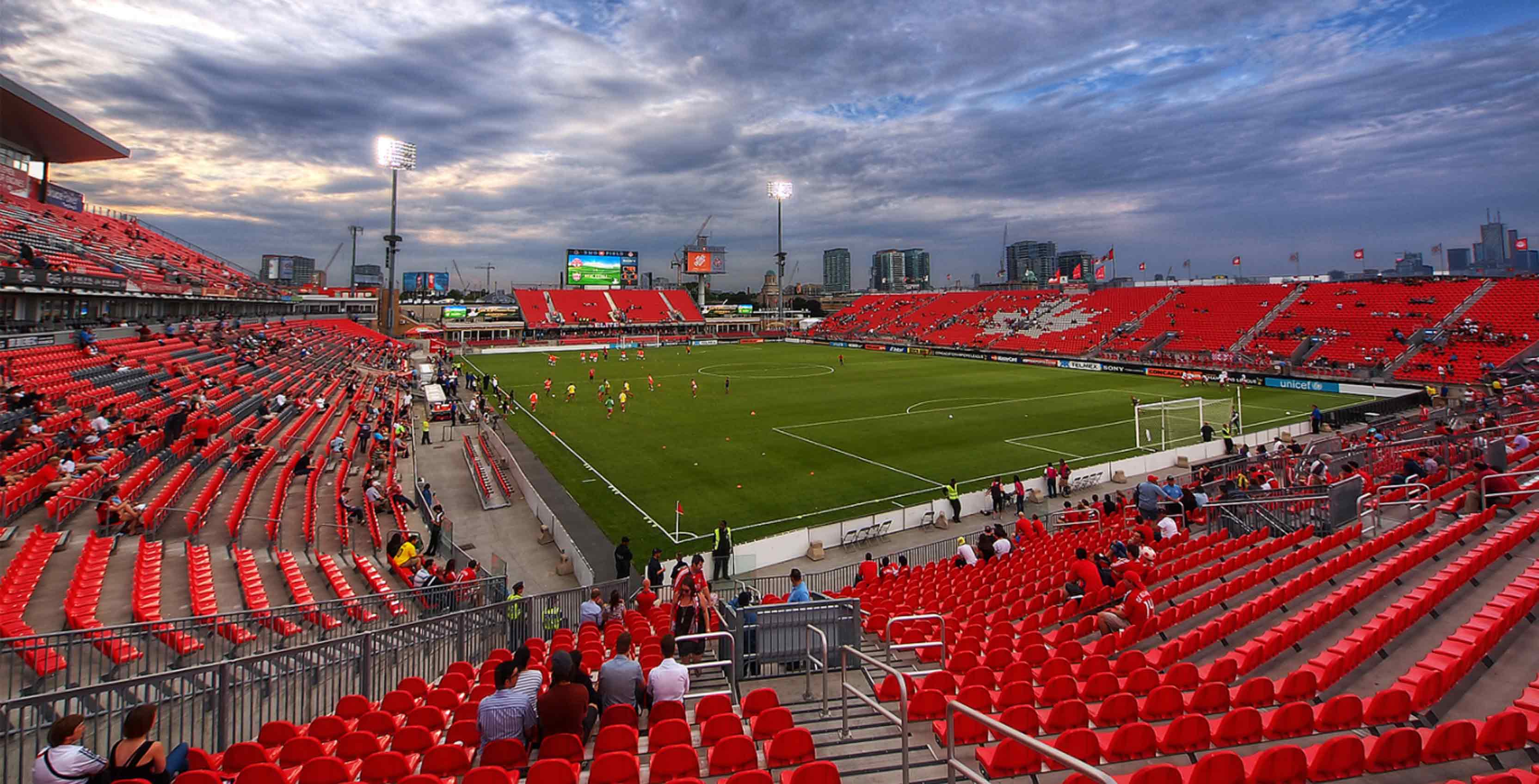 BMO Field seating
