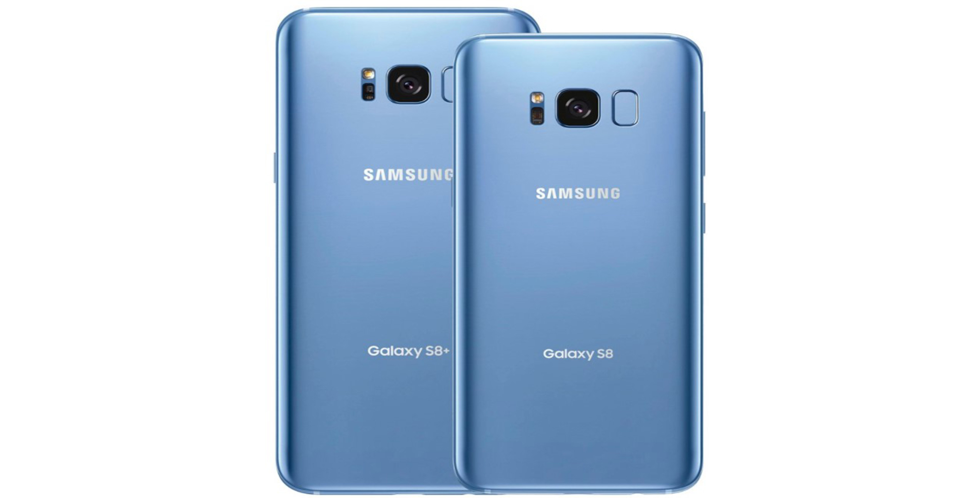 Coral blue Galaxy S8