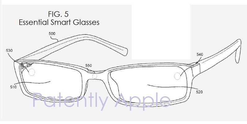 Essential smart glasses patent
