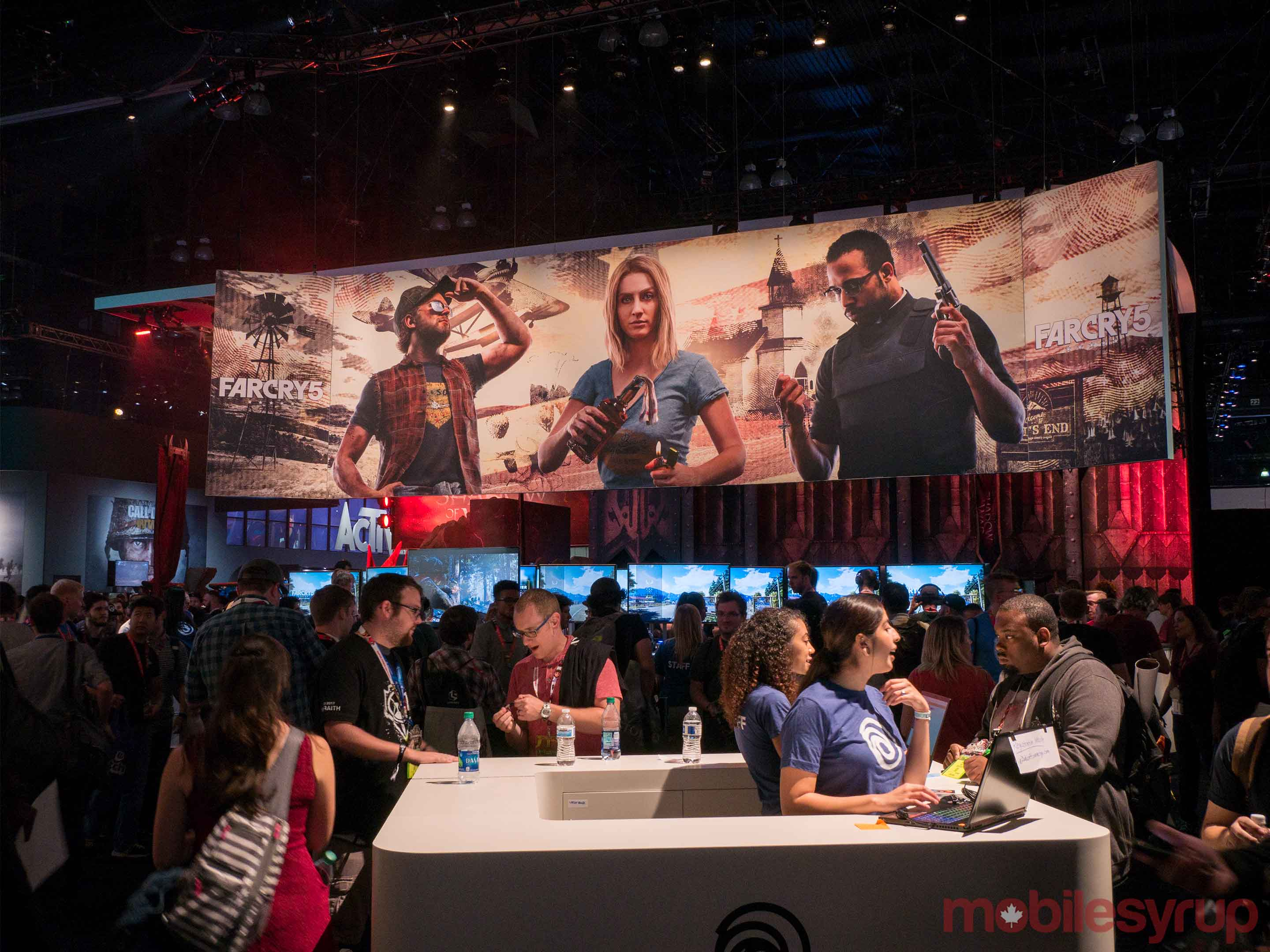 Far Cry 5 booth at E3 2017