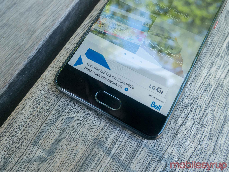 huawei p10 plus fingerprint sensor