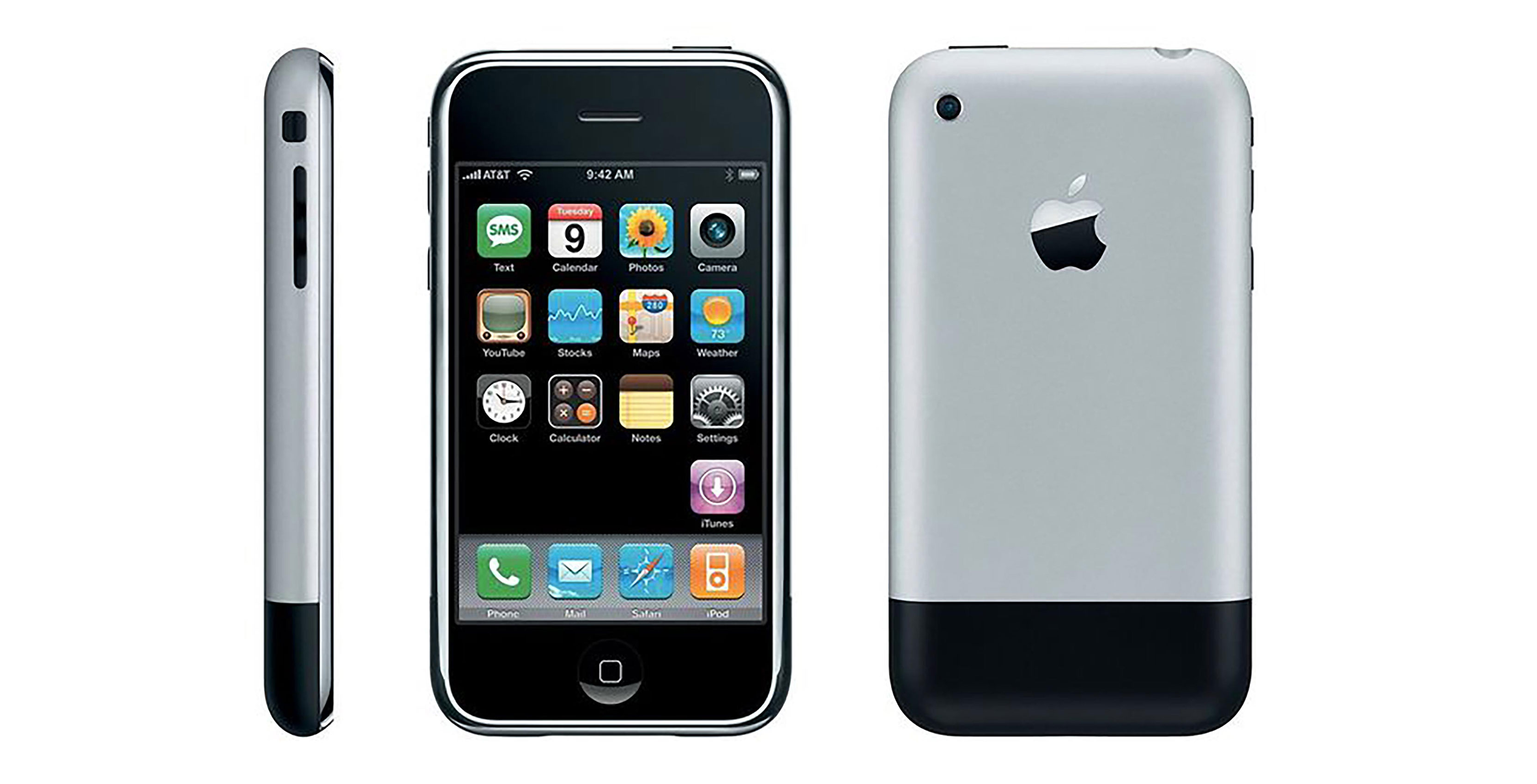 Looking Back At Apple's First IPhone On Its 10th Anniversary