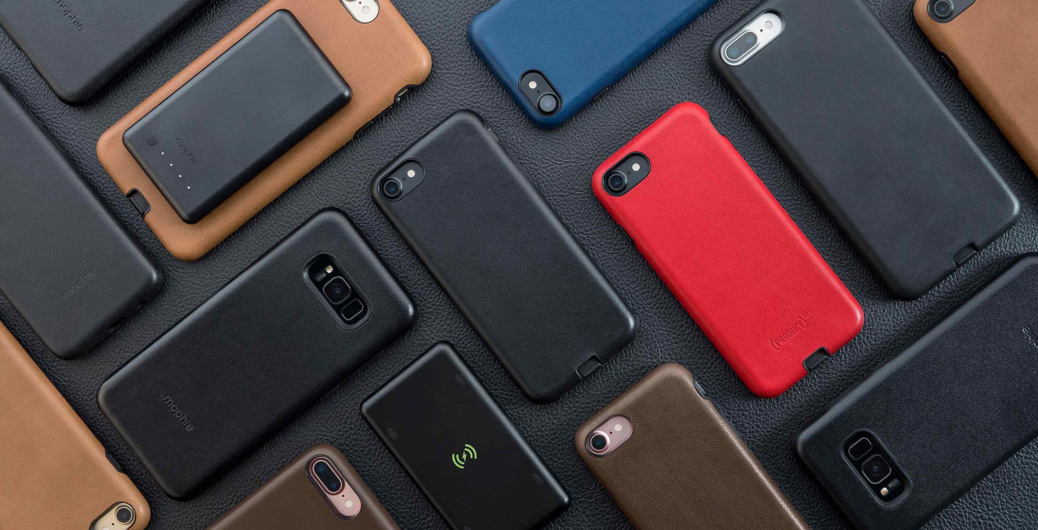 Mophie cases multi-coloured