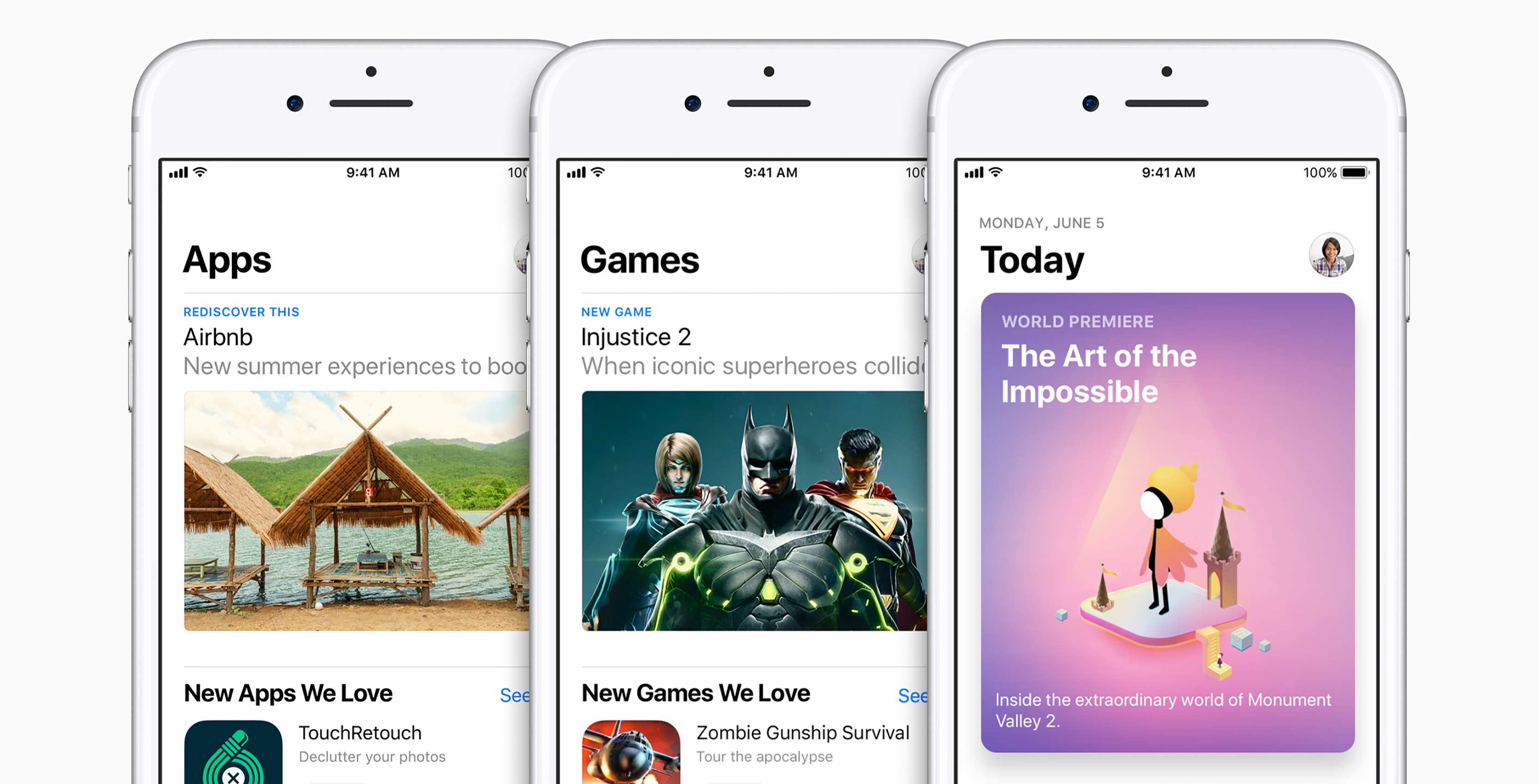 New iOS App Store