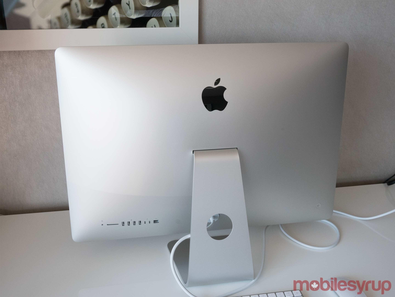 iMac Rear view