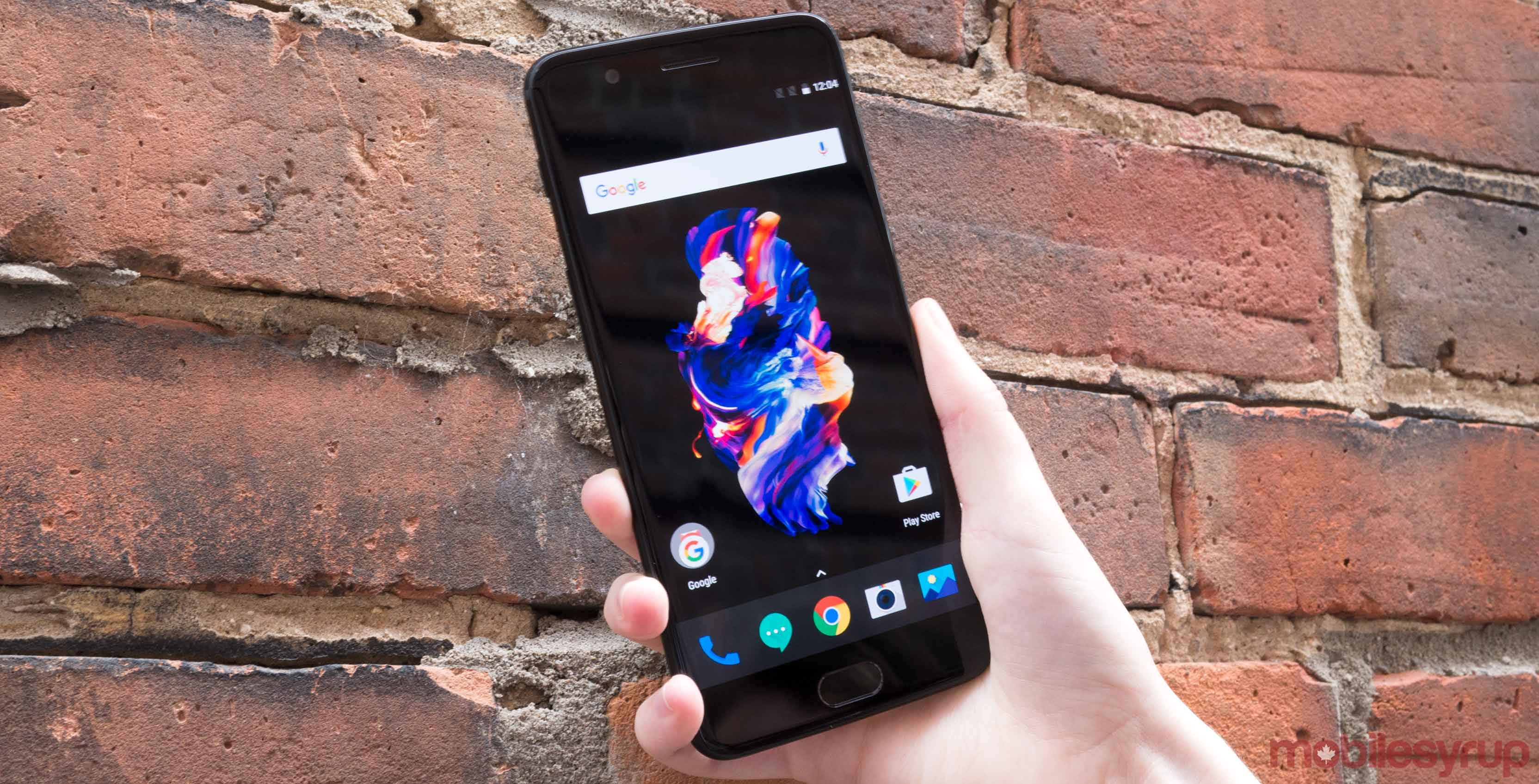 OnePlus 5 front