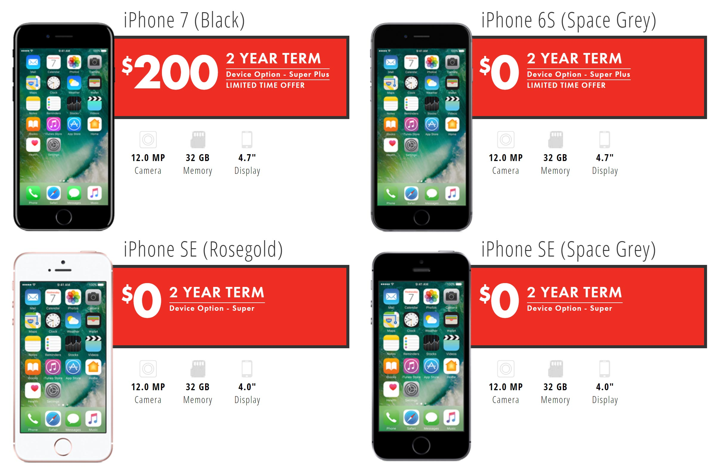 The Carrier Offers Two Monthly Plan Options Data Flex And Plus Plans Begin At 46 Are An Extra 8 With Super Device