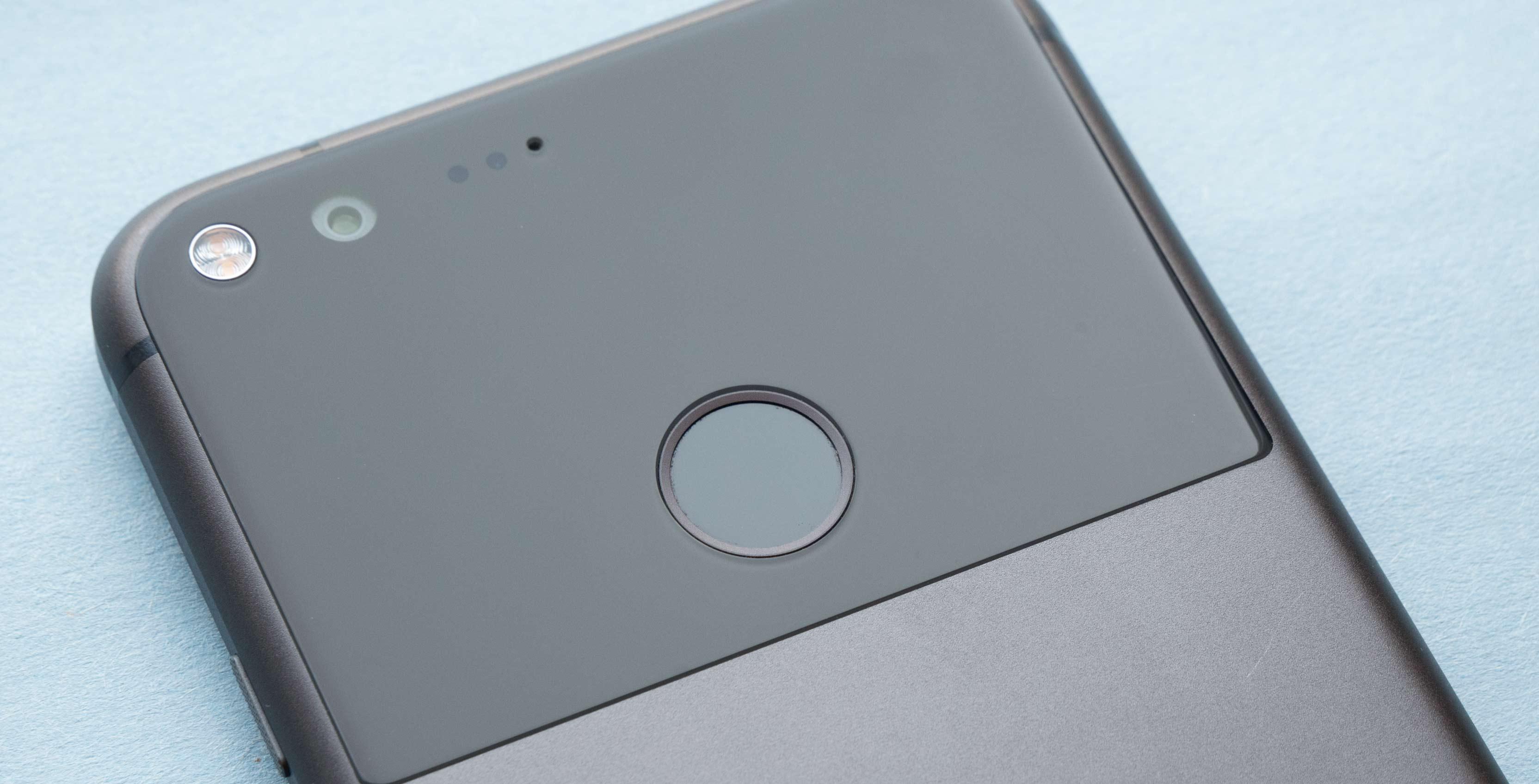 Pixel fingerprint scanner