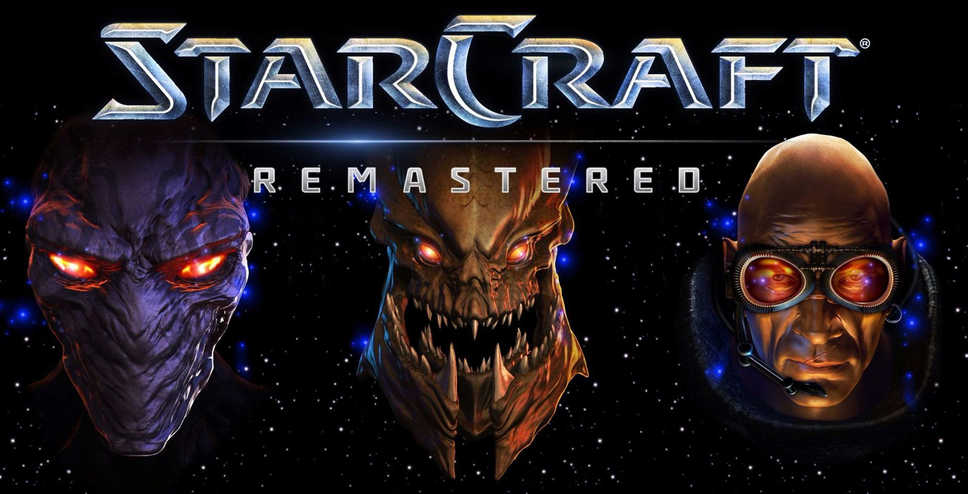 StarCraft Remastered key art
