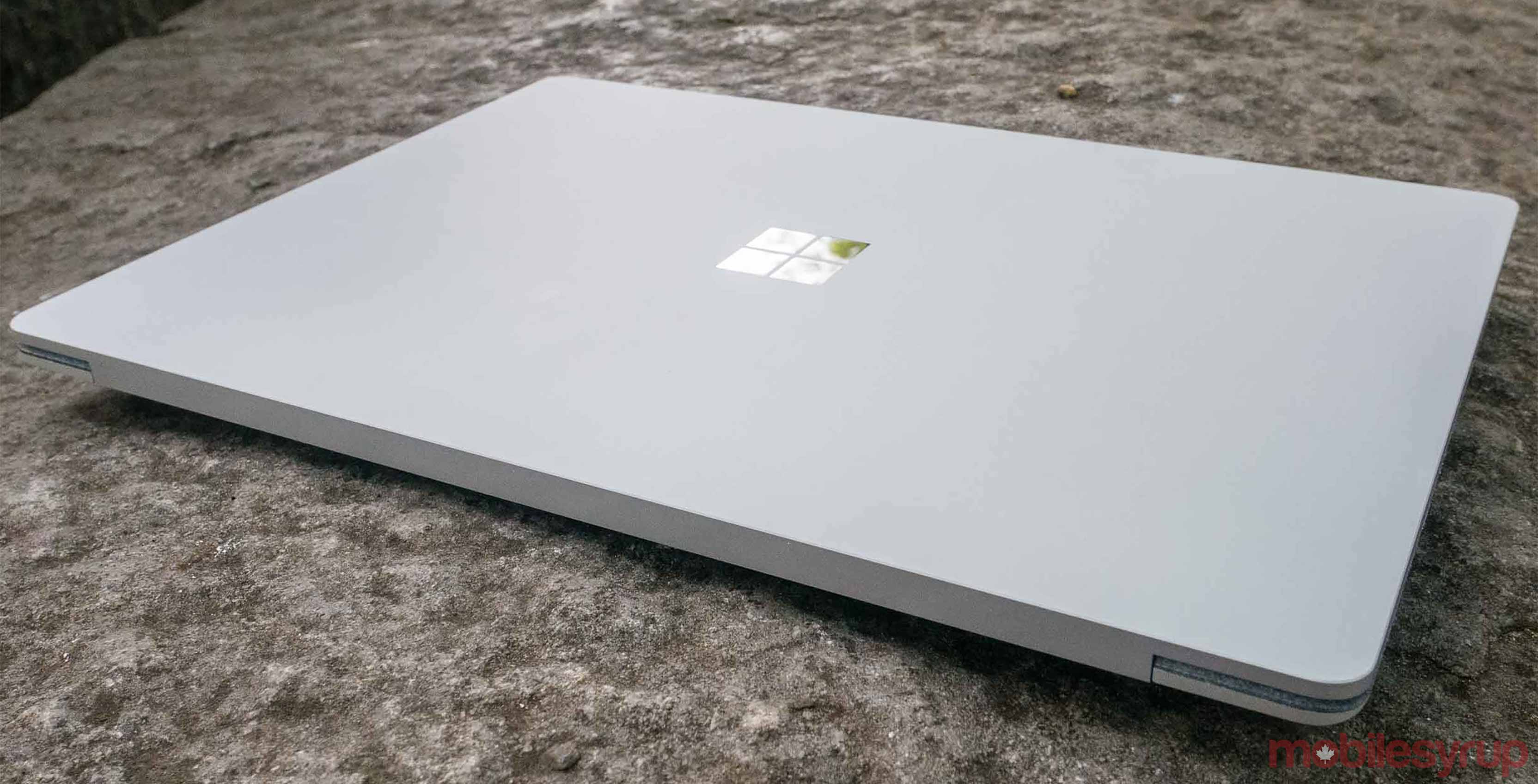 Surface Laptop on a table