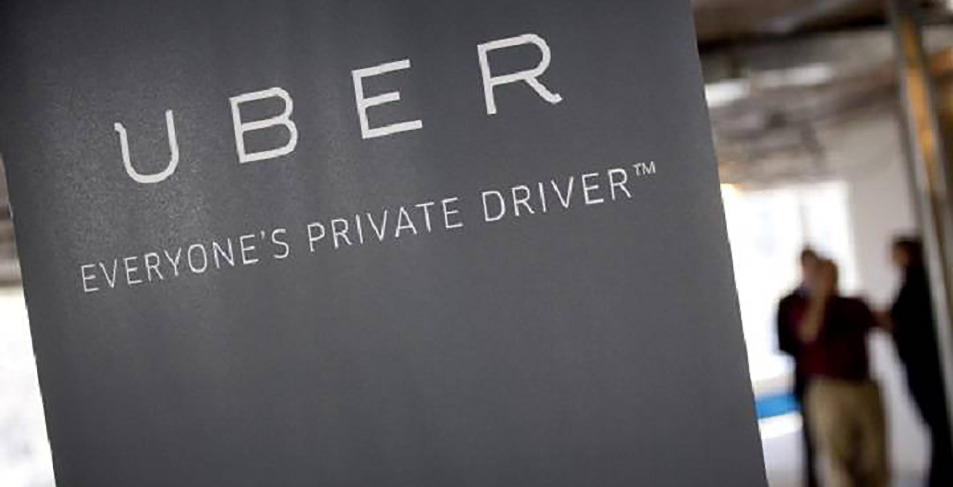 Uber header private driver image