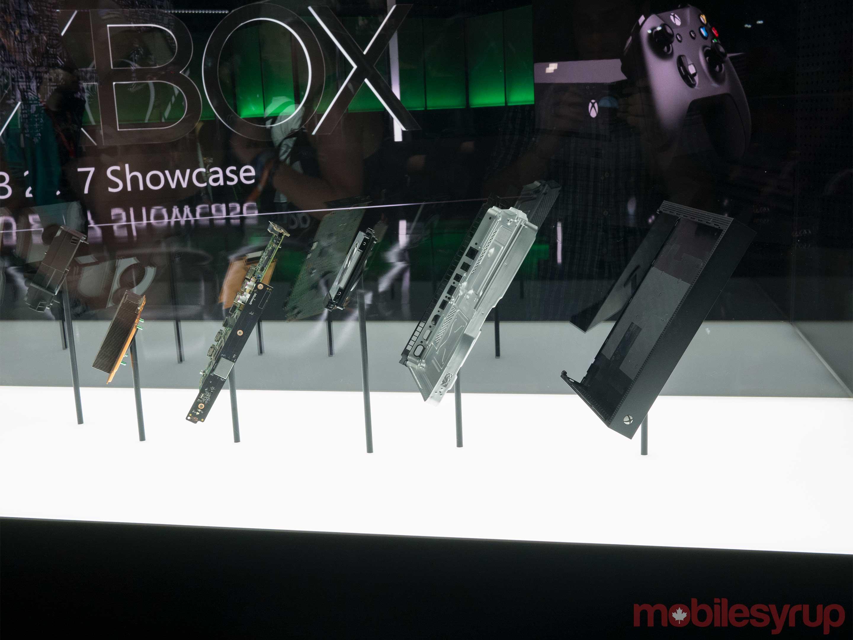 Xbox One X guts