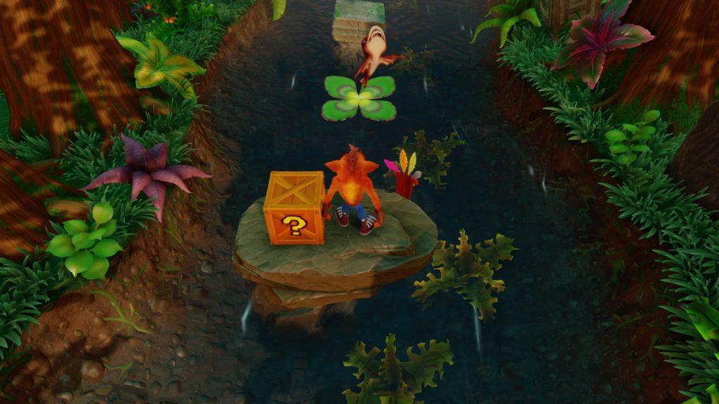 Crash Bandicoot water level