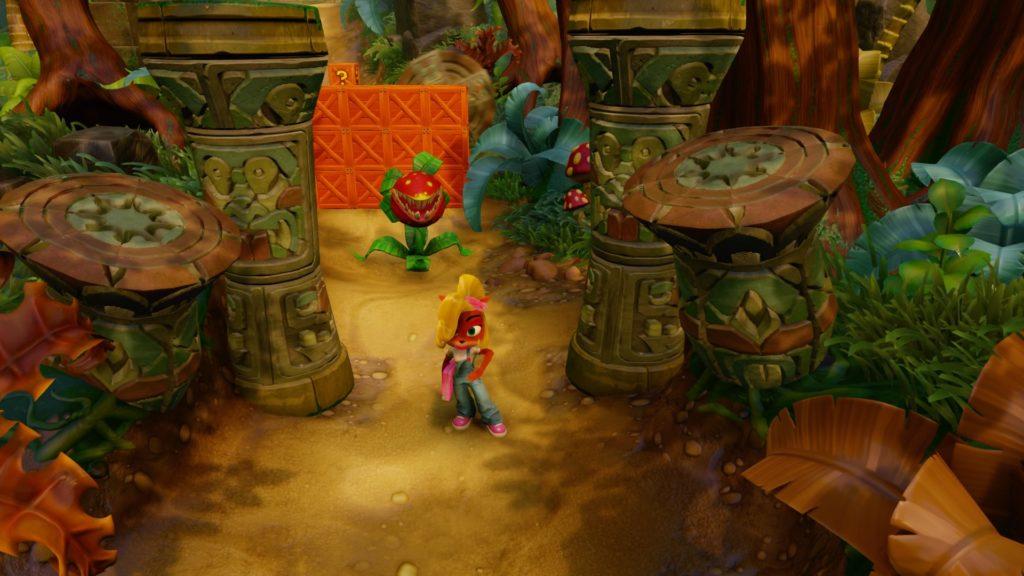 Coco Bandicoot in jungle