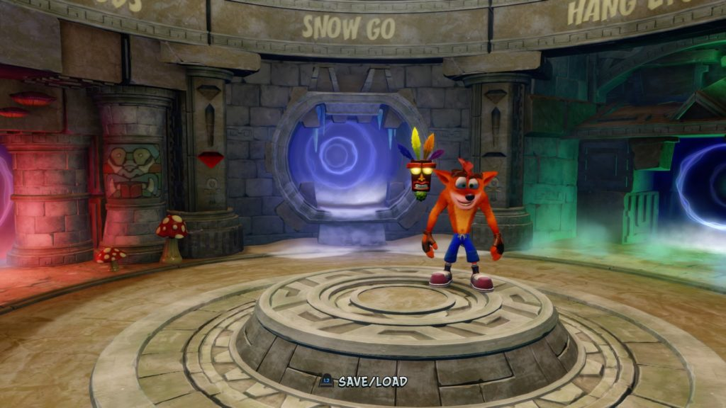 Crash Bandicoot level select