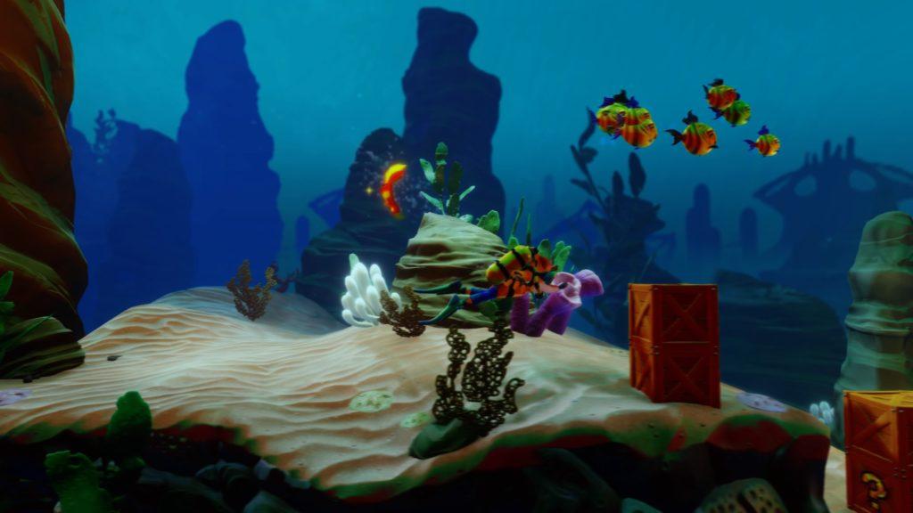 Crash Bandicoot Warped water level