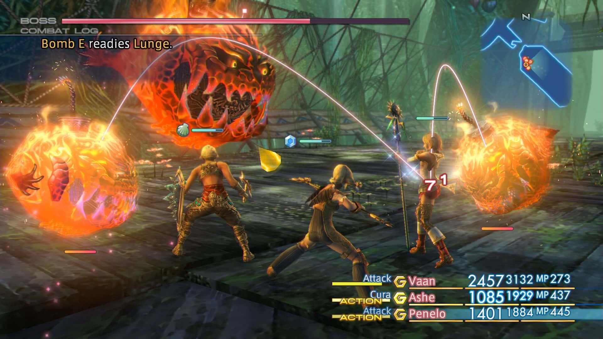 Final Fantasy XII Bomb boss