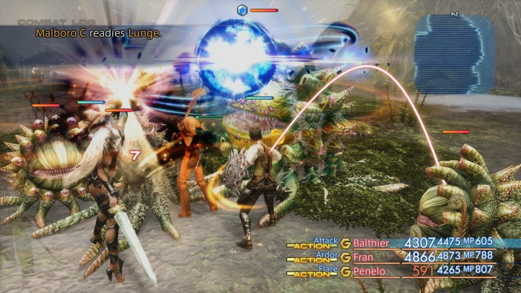 Final Fantasy XII Marlboro combat