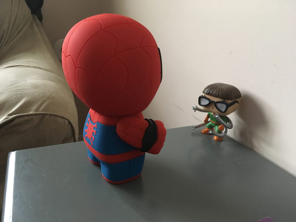 Spider-Man and Doc Ock