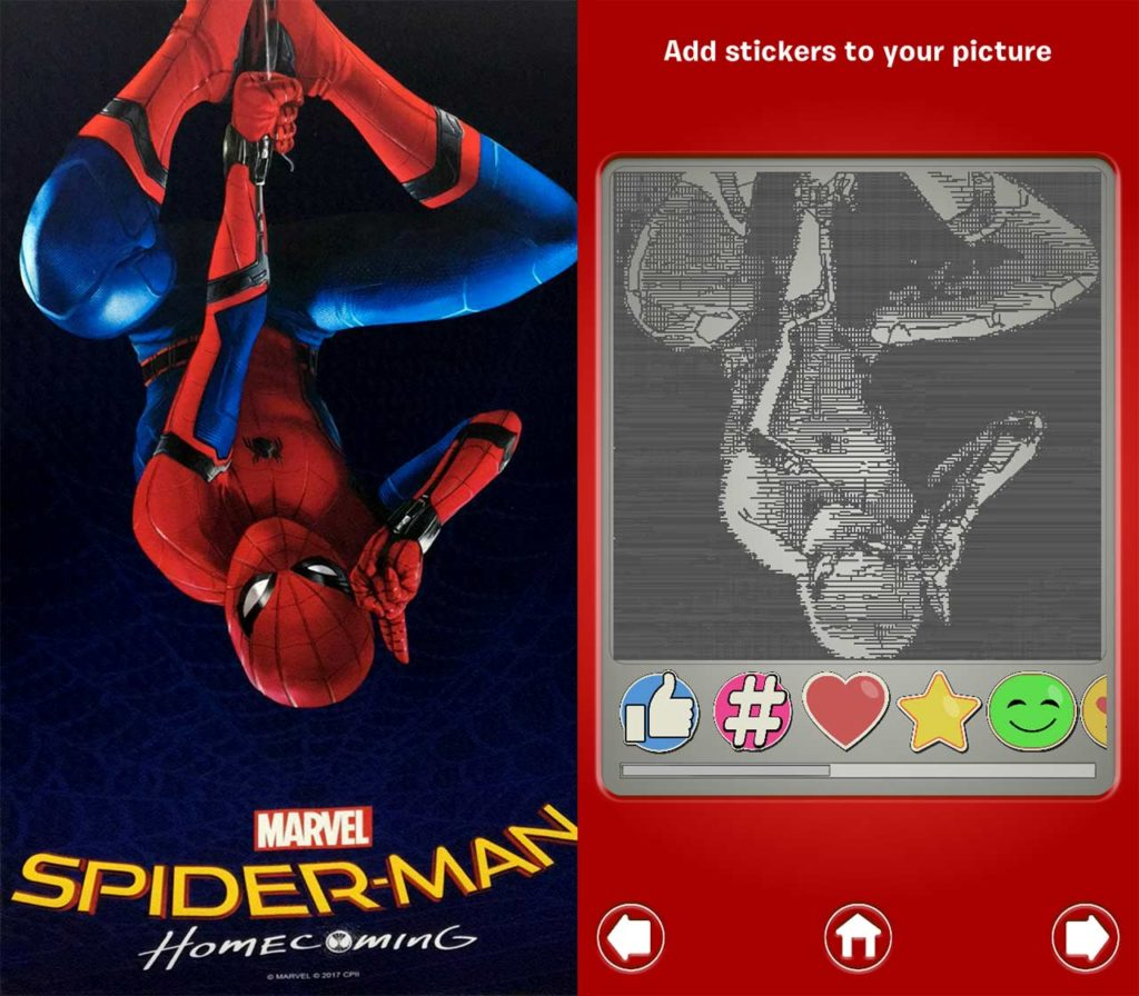 Spider-Man-Homecoming Etch A Sketch
