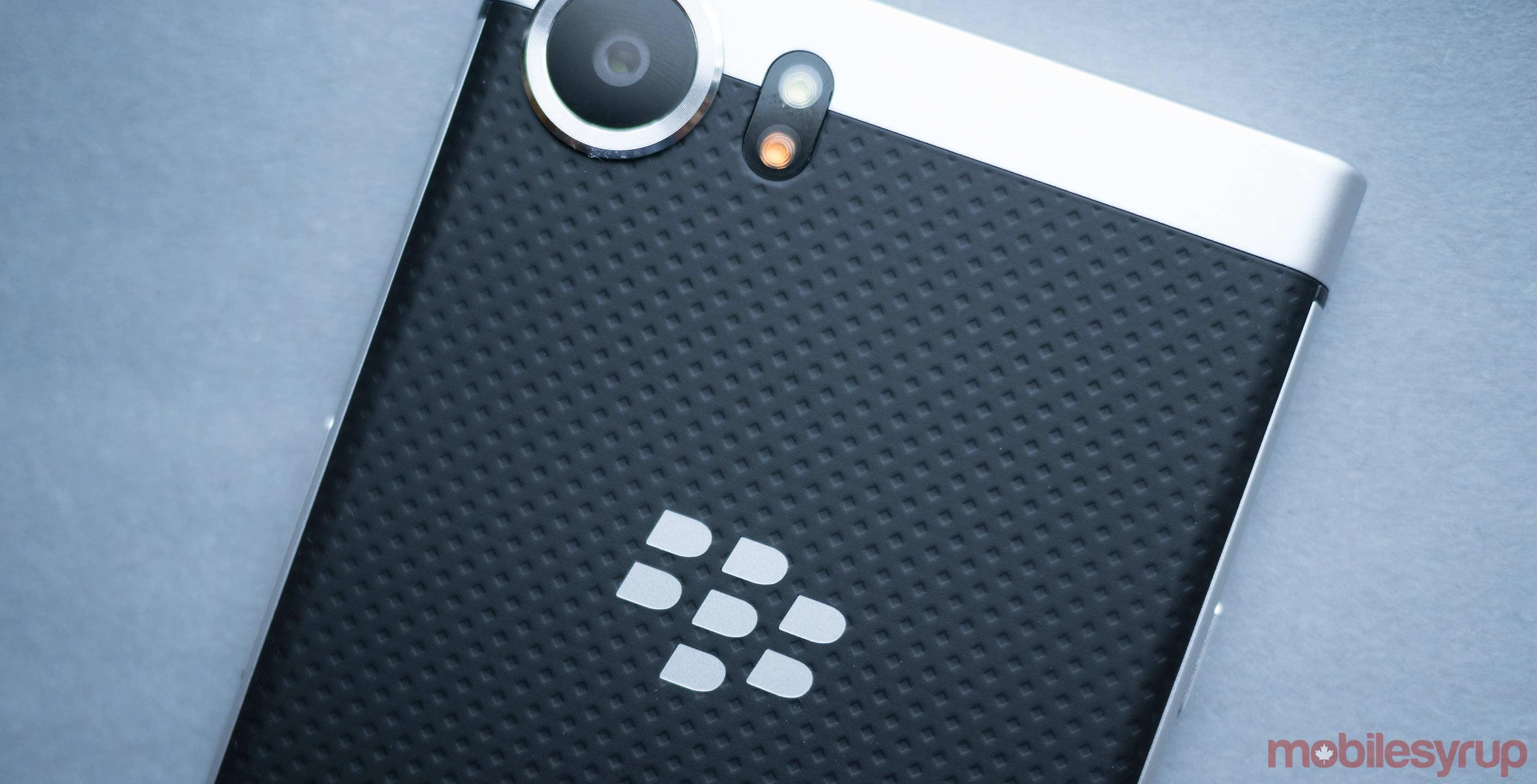 BlackBerry Key One back of phone