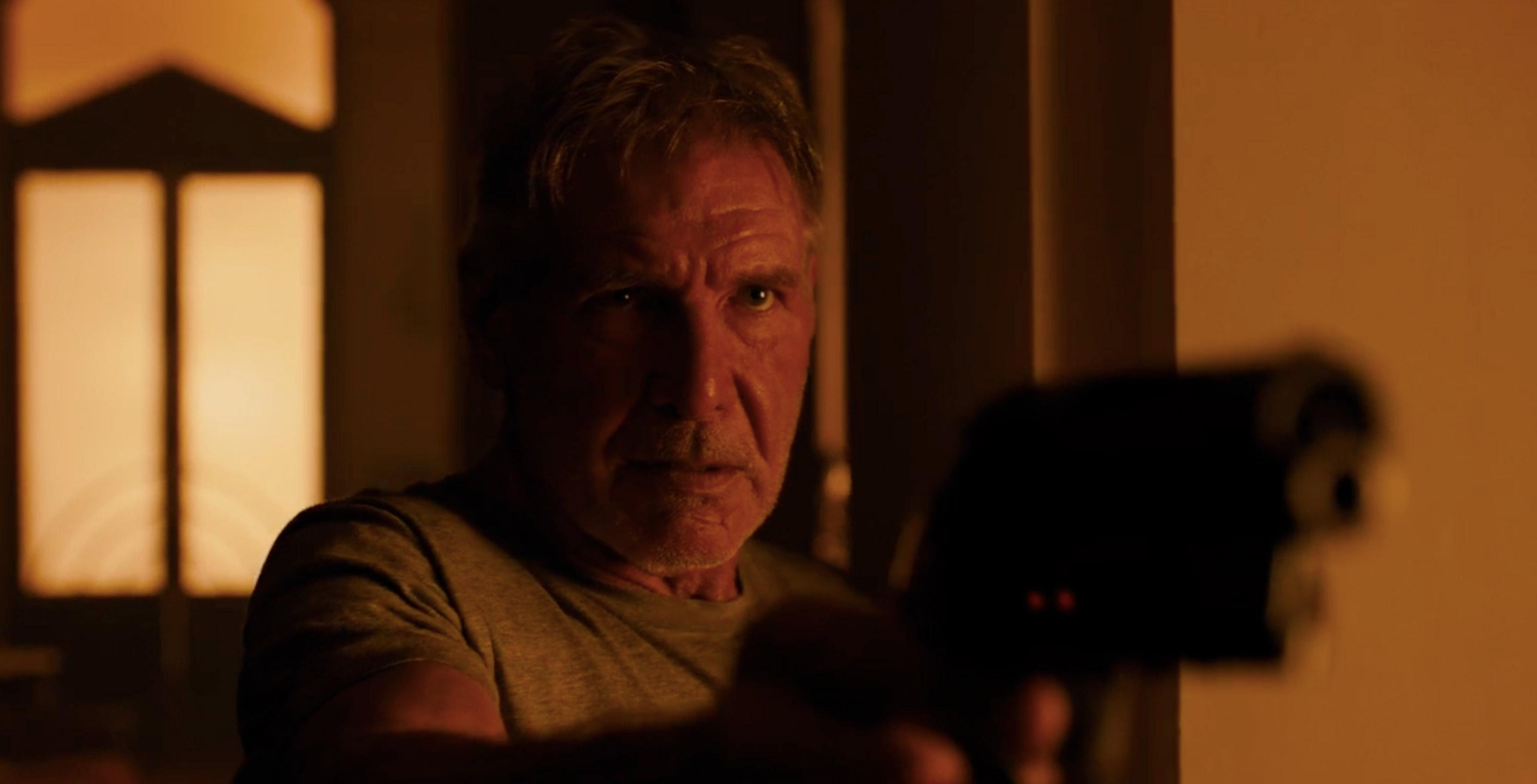 Harrison Ford in Blade Runner 2048