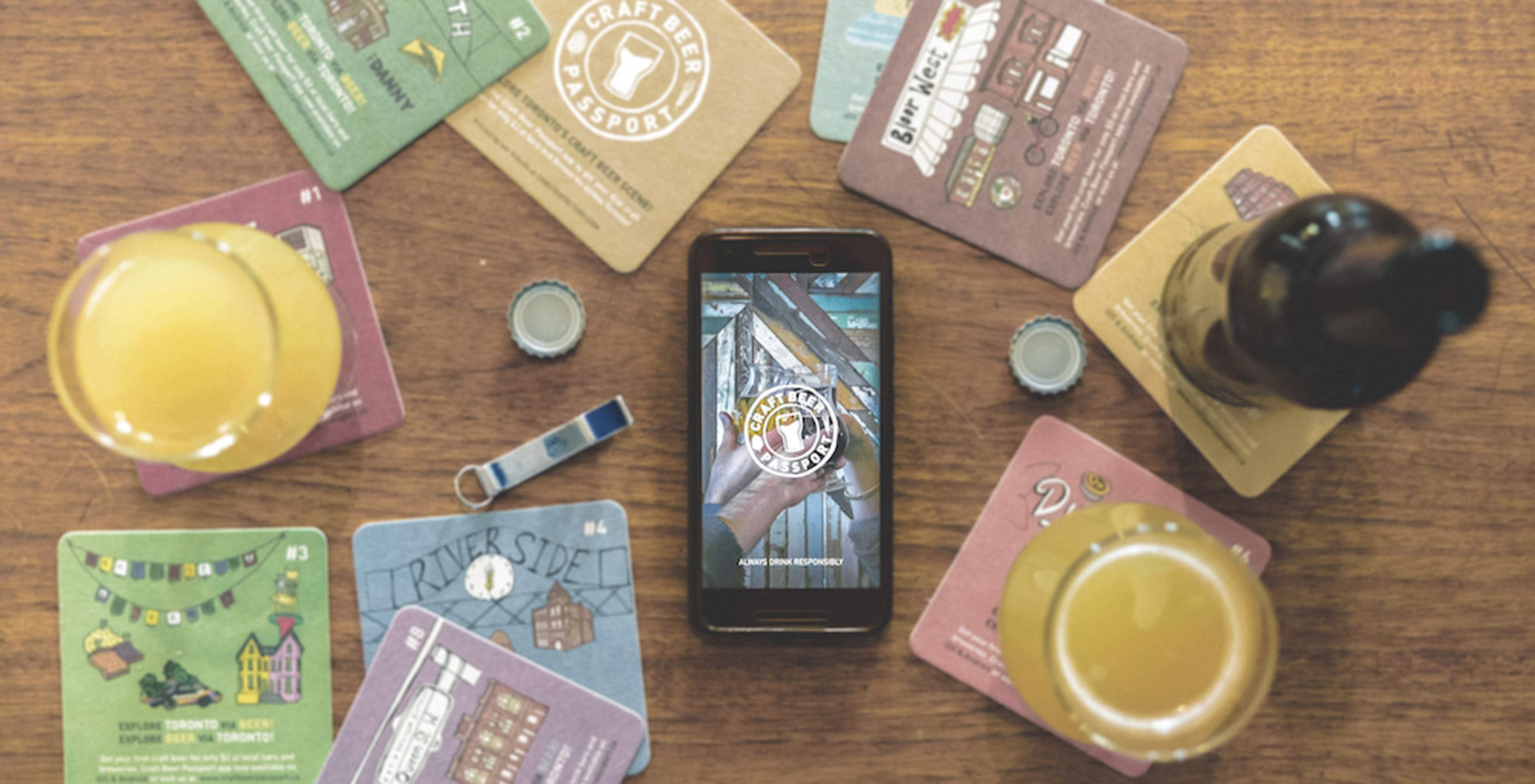 Craft Beer Passport app