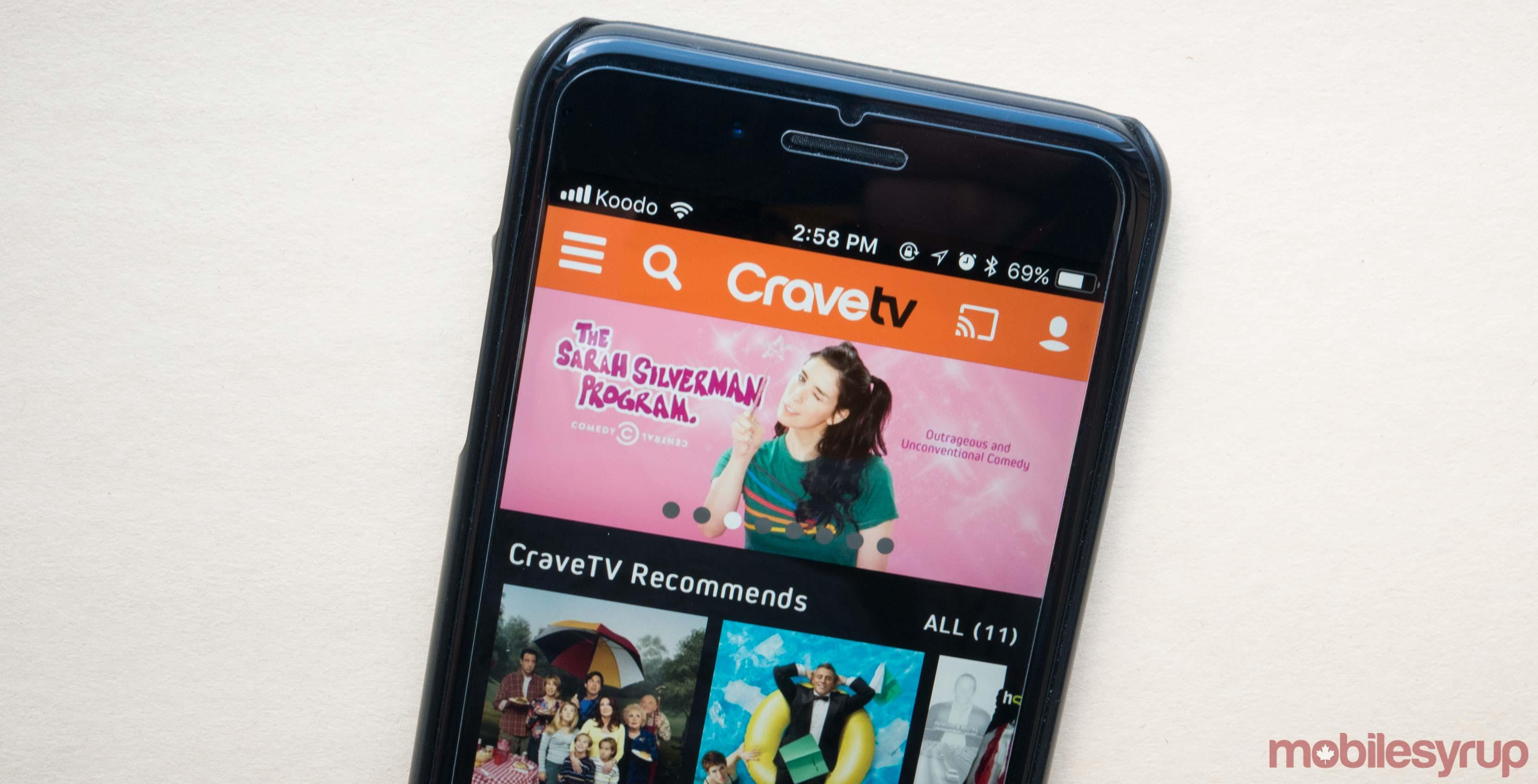 CraveTV iOS App