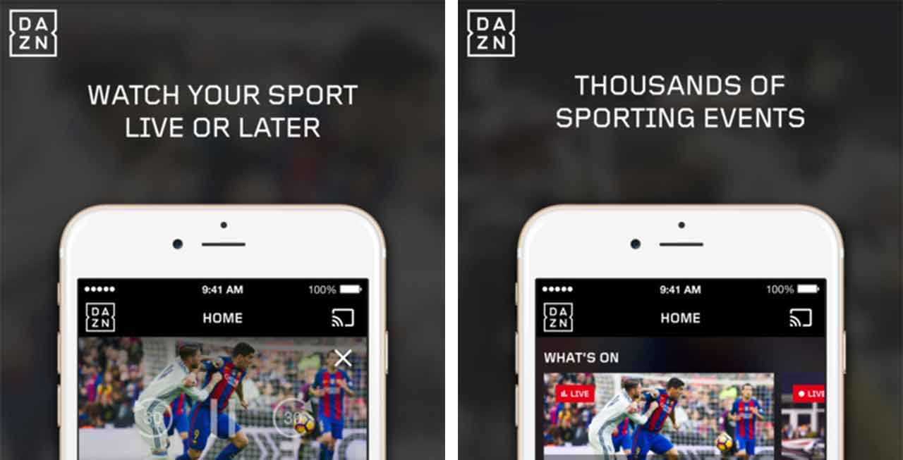 Live sports streaming service DAZN launches in Canada with