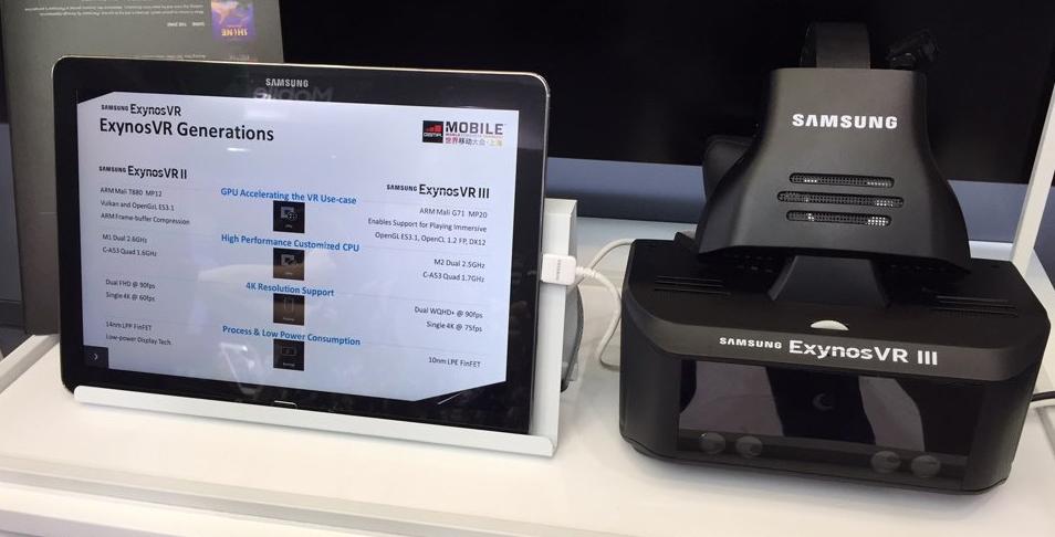 exynovr III vr headset samsung