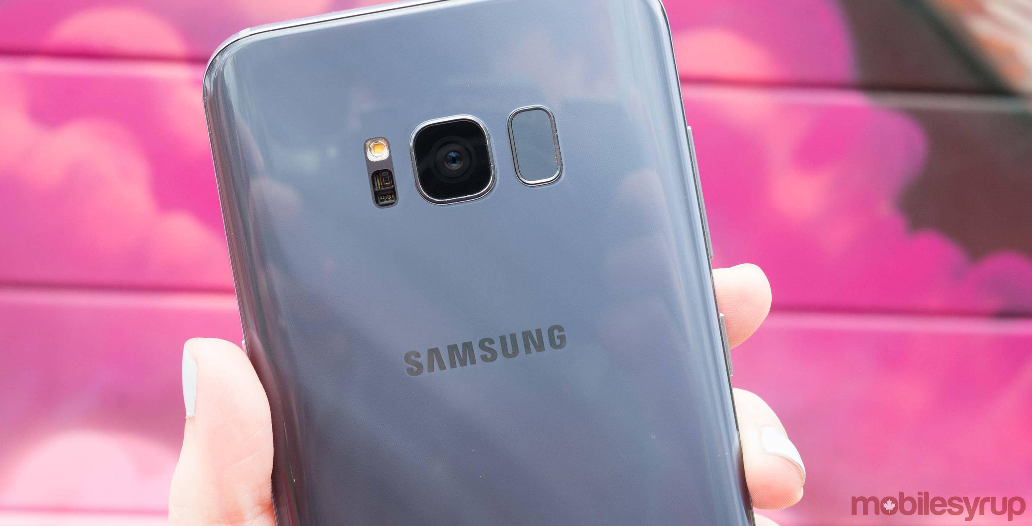 Samsung Galaxy S8 camera header