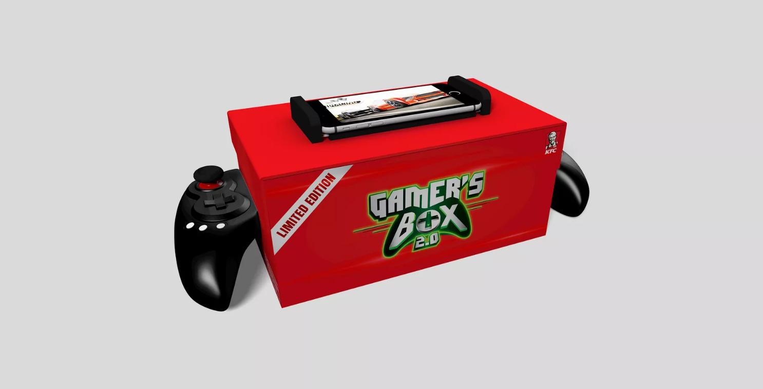 kfc gamer box