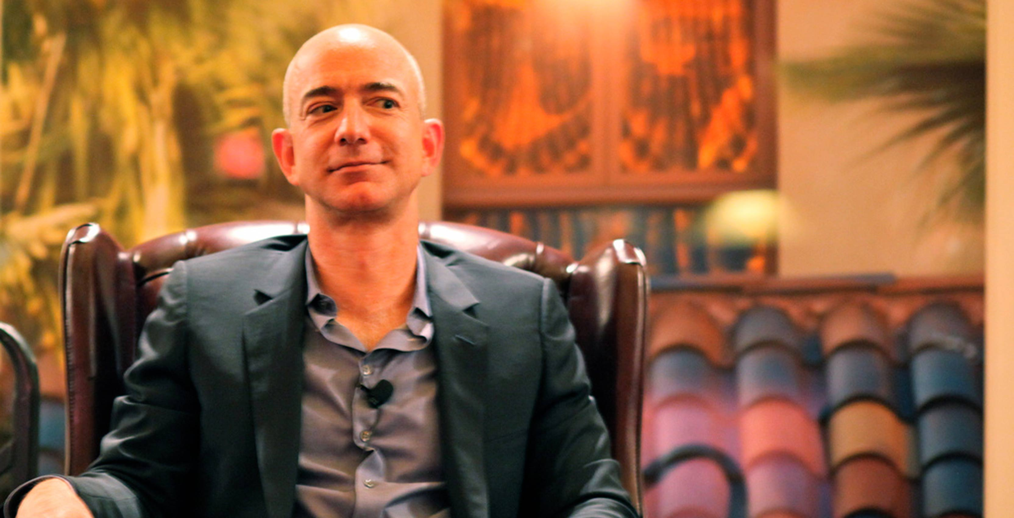 Portrait of Jeff Bezos