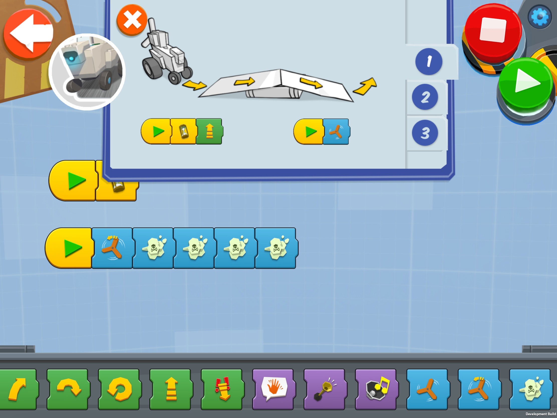 Lego Boost app screenshot