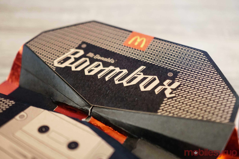 McDonalds Boombox