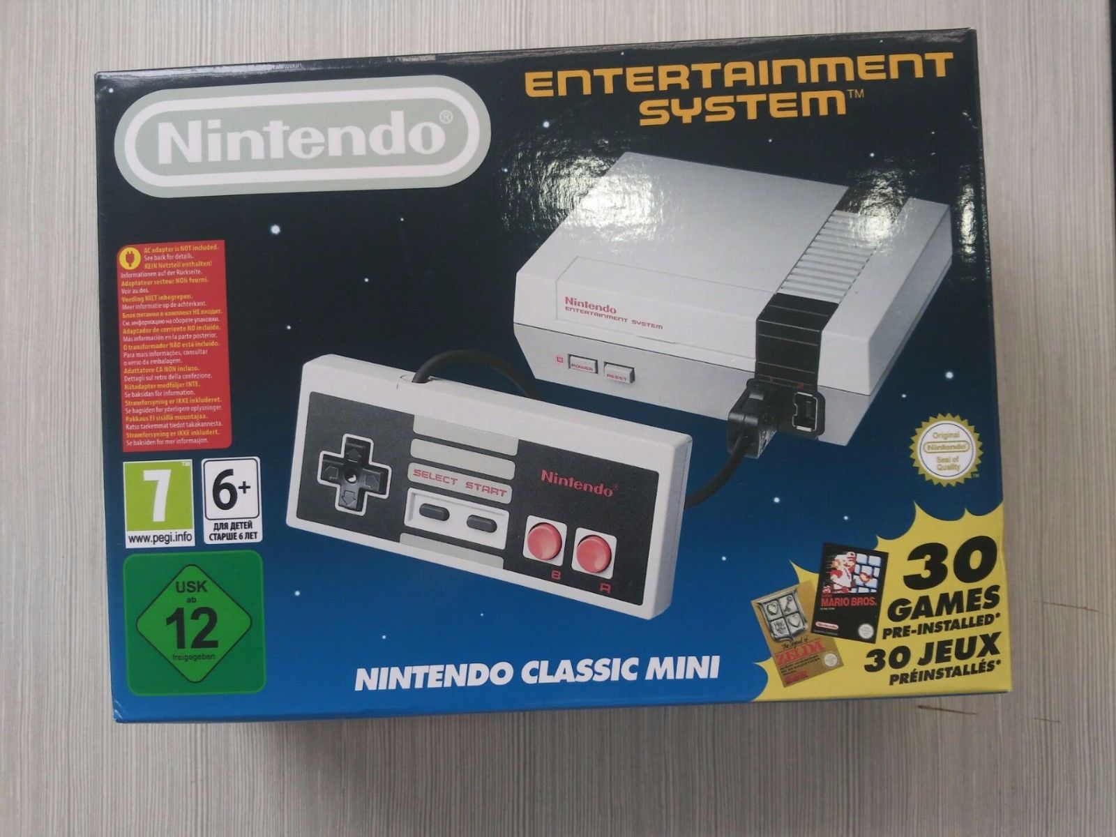 Fake NES Classic from neoGAF