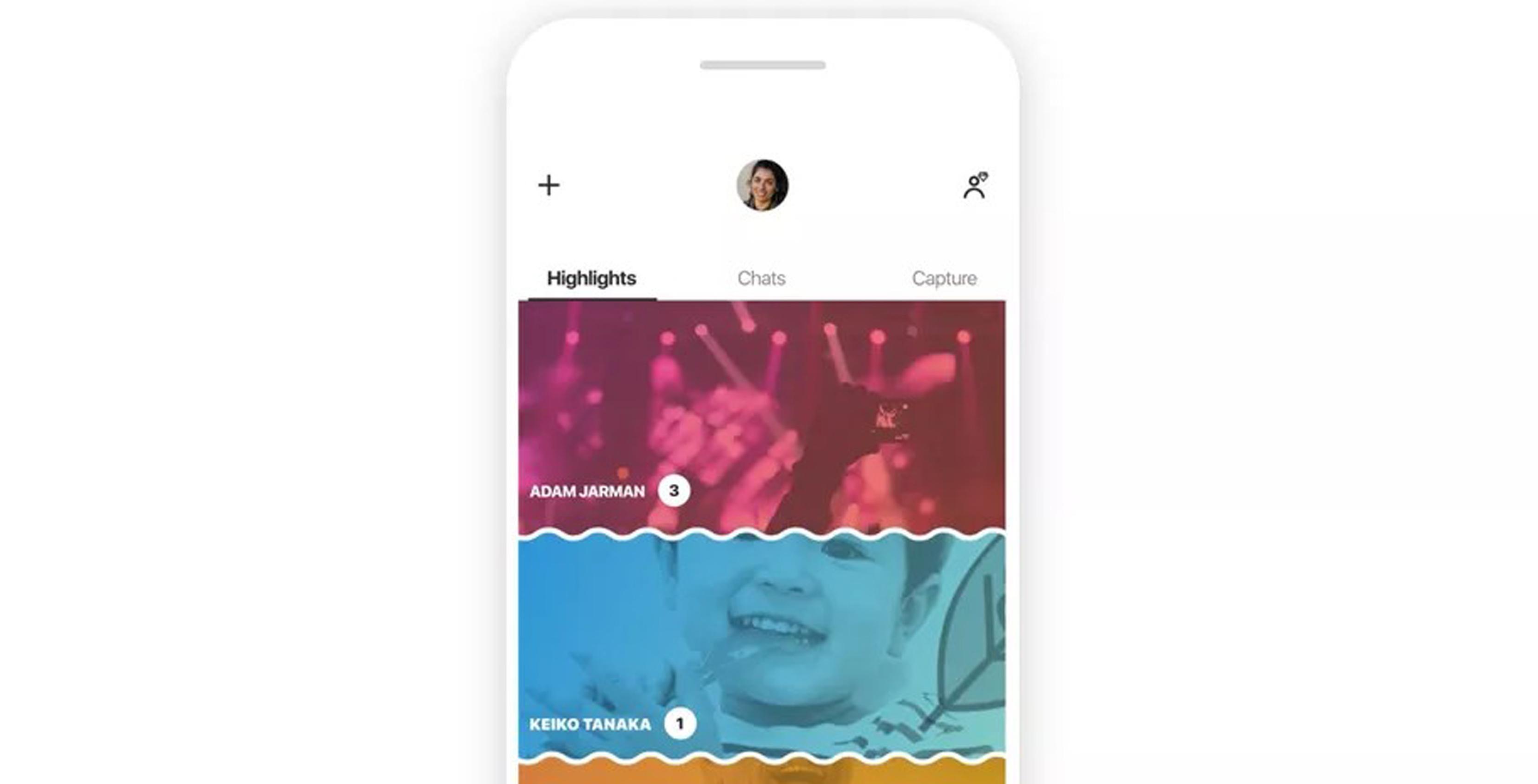 New Skype iOS design
